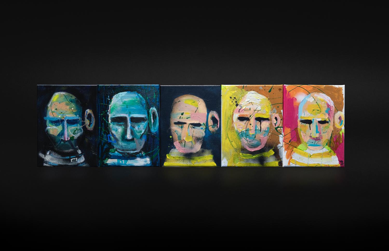 """""""Som om det var i går"""", 2018, 150 x 40 cm, blandingsteknikk på linlerret. 🔴SOLGT"""