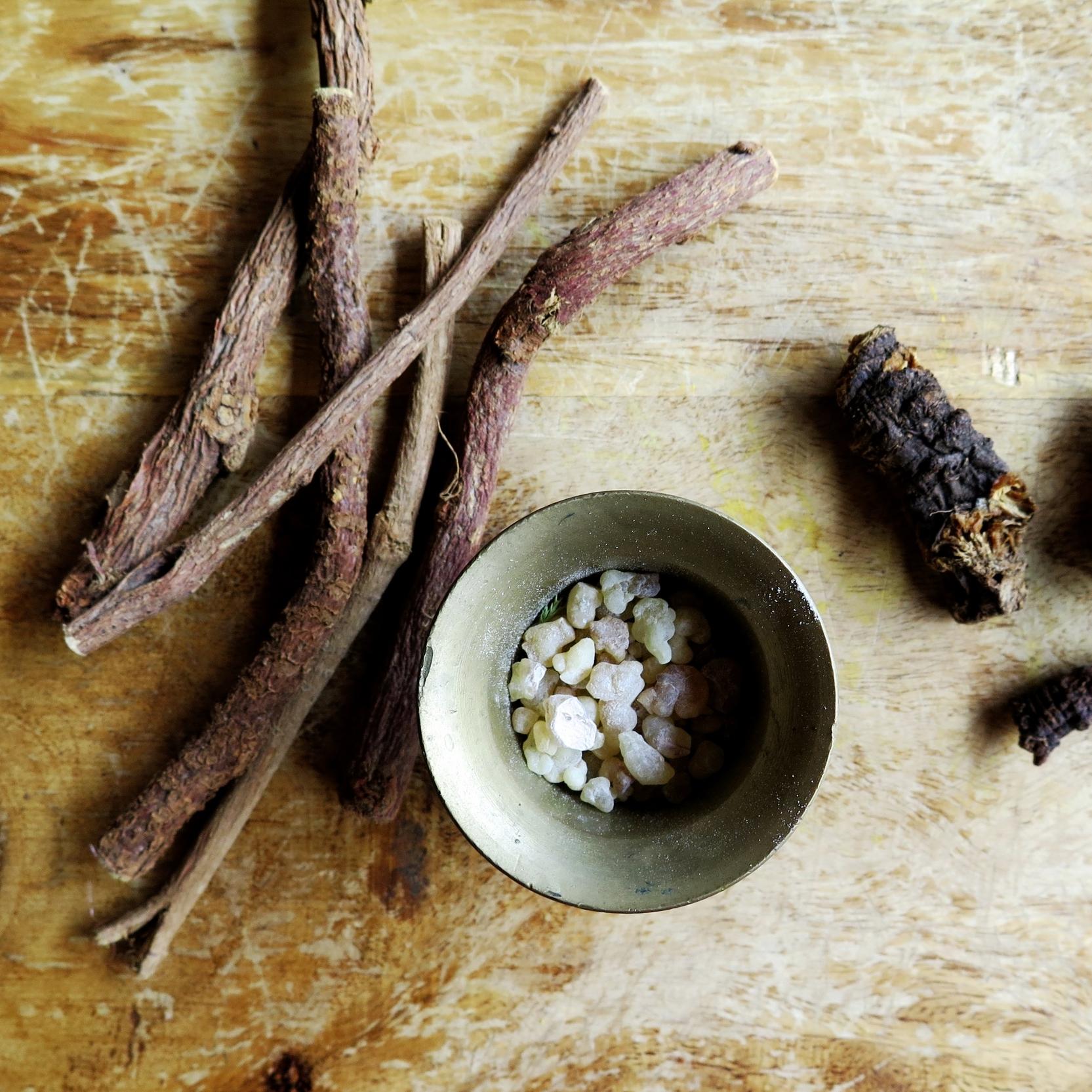 Dried Herbs & Resins