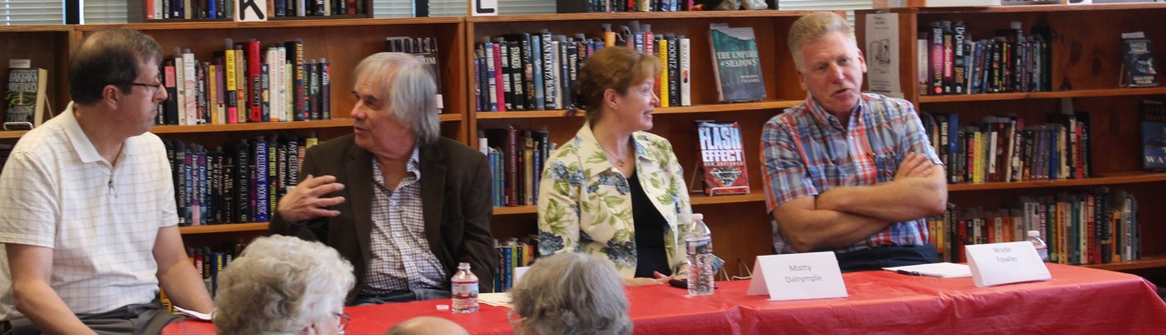 Author Panel at Mechanicsburg Mystery Bookshop April 30, 2017