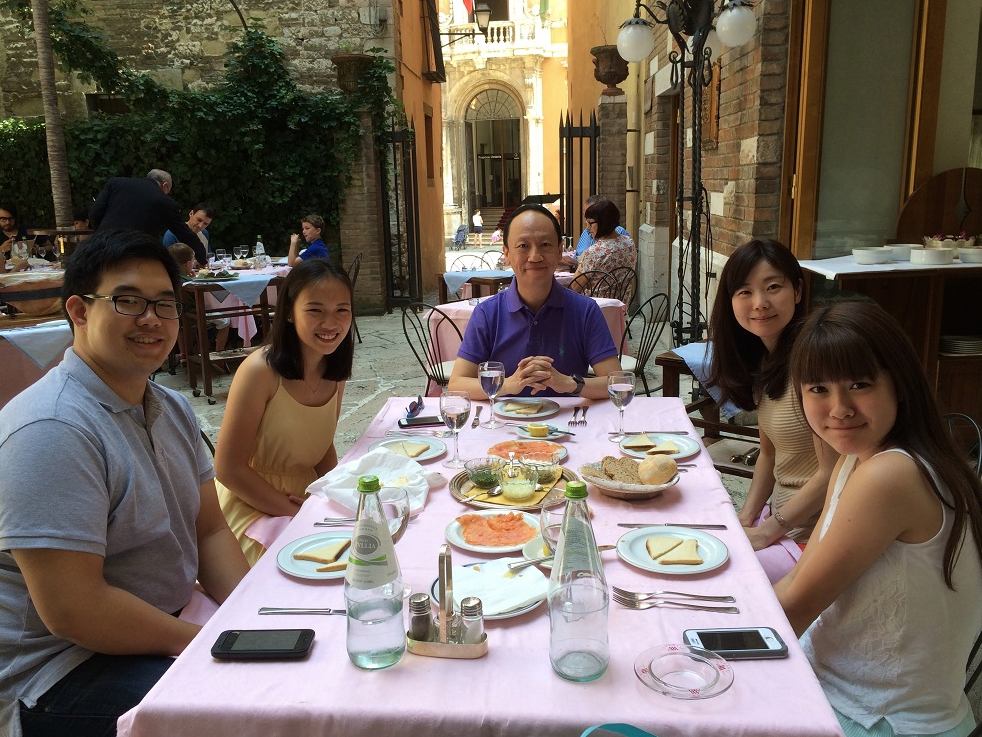 Lunch with Festival participants