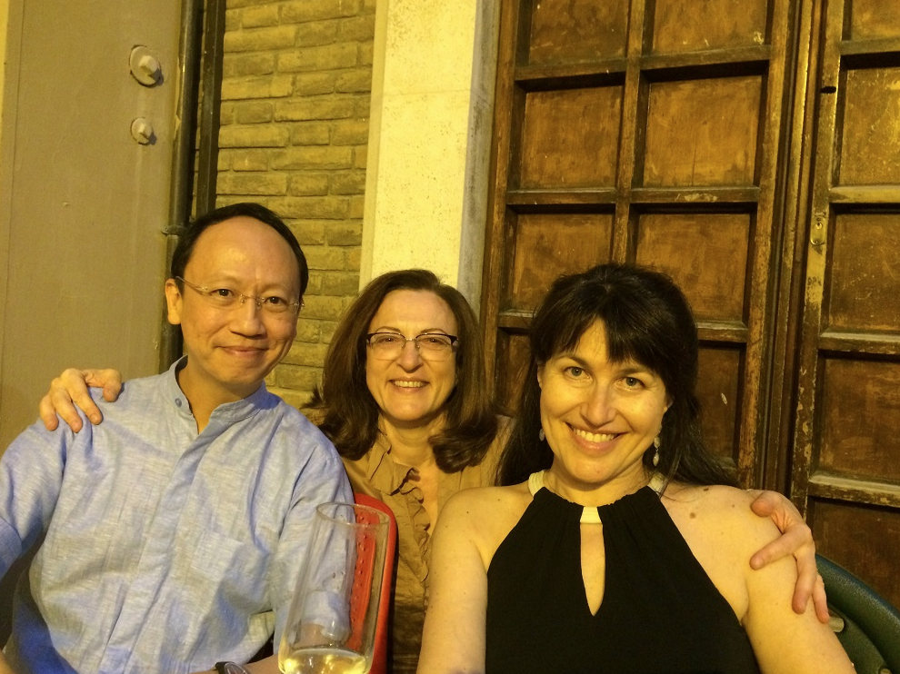 From left to right: BL, Lea Agmon, Victoria Mushkatkol