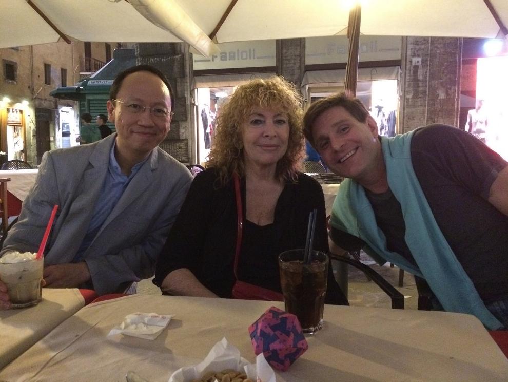 With the Festival Directors, Ilana Vered and Sasha Starcevich