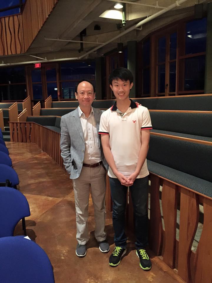 Program participant, Ivan Lee, from Hong Kong