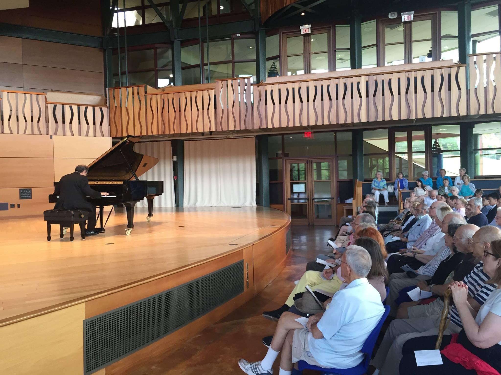Boris Berman in recital