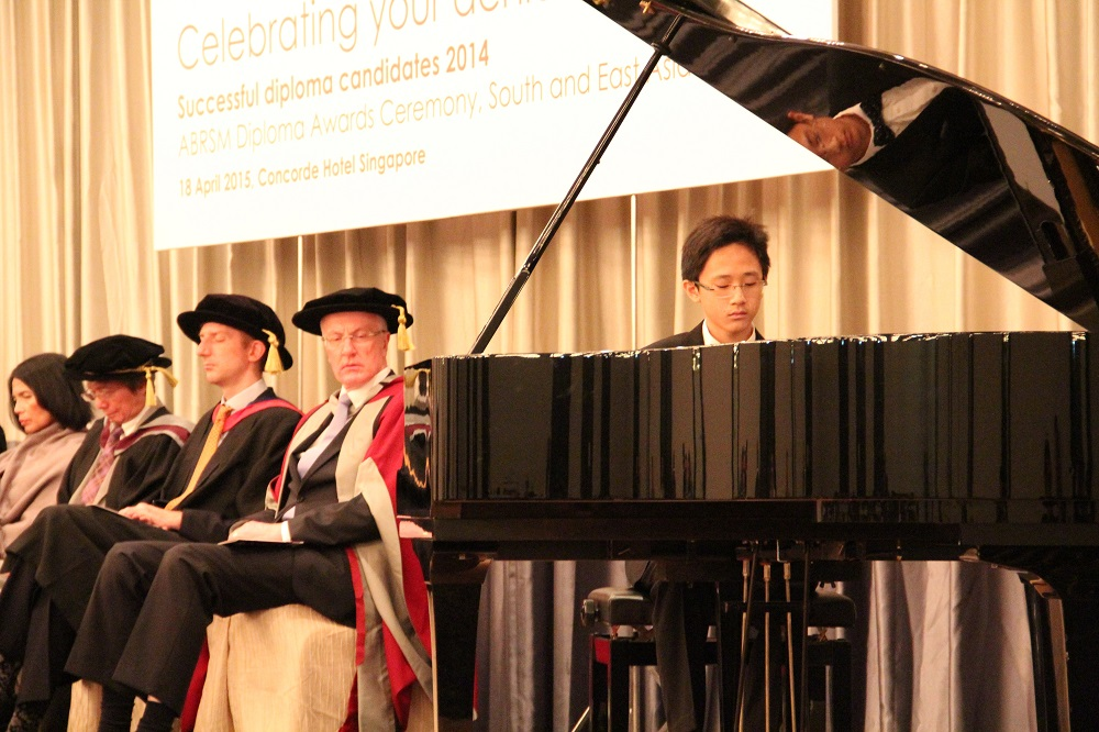 14-year-old Fong Kai De (LRSM Distinction) performing the Chopin Scherzo No. 4, Op.54 and Prokofiev Toccata Op.11