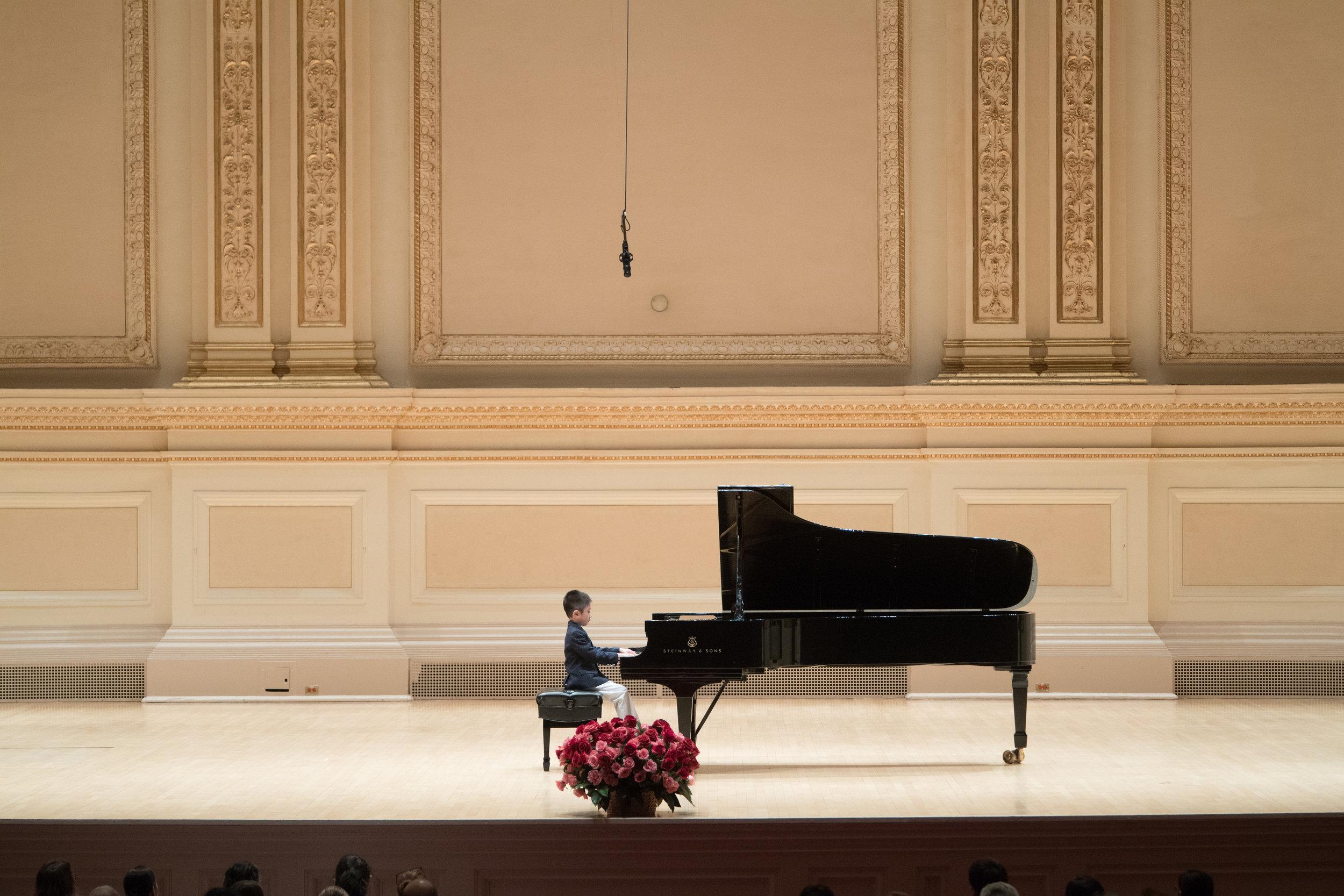 "Junwei performing Debussy's ""Le Petit Negre"""