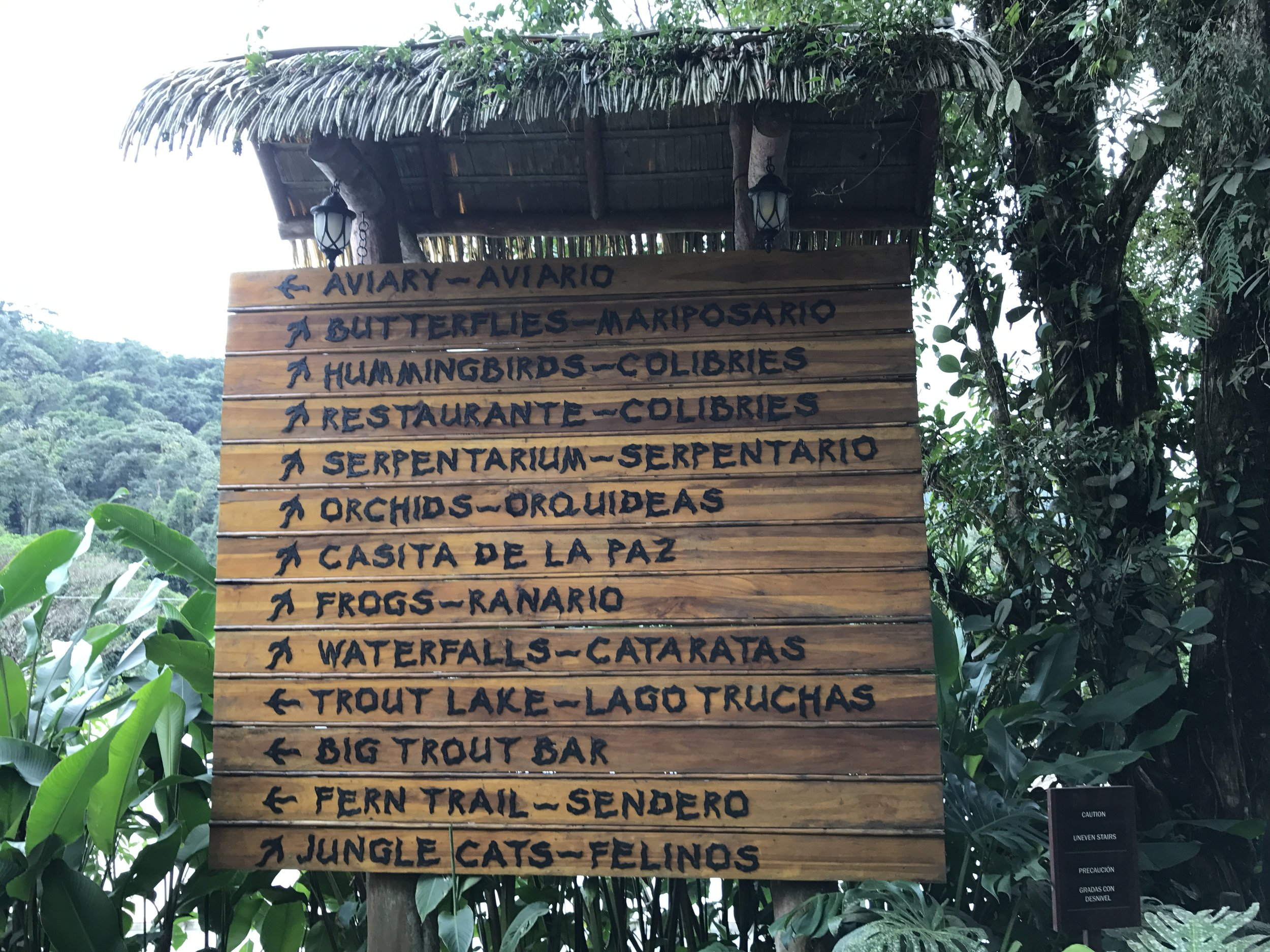 La Paz Waterfall and Animal Sanctuary