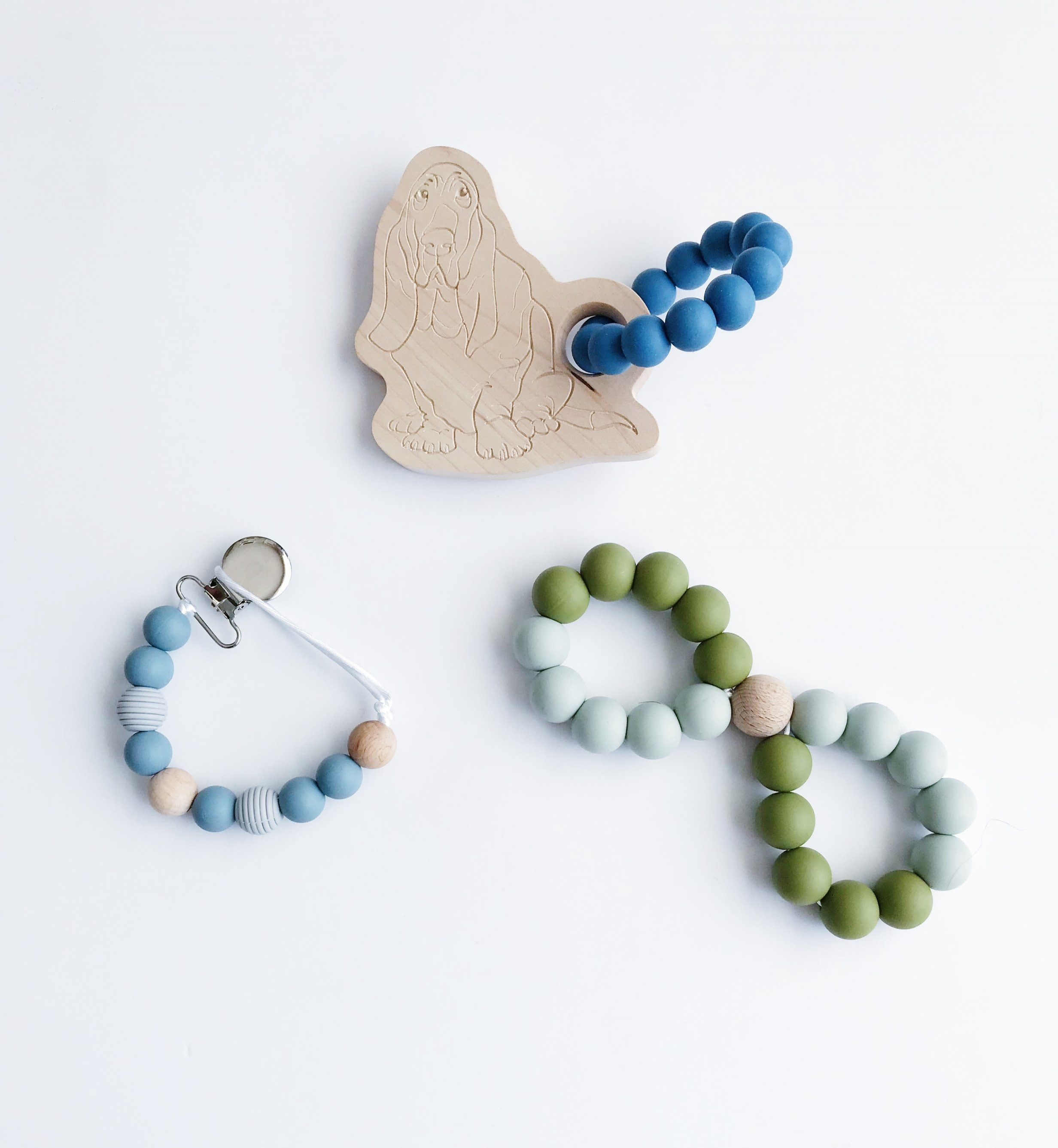 Baby Niche Pacifier Clips & Teethers - save 15% with code: BESTIE15