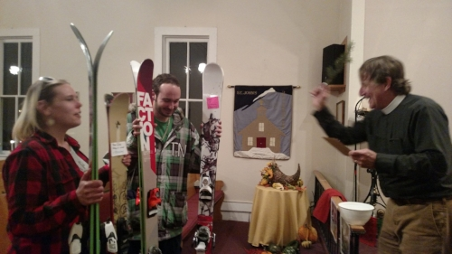 blessing of the skis & boards ~ November