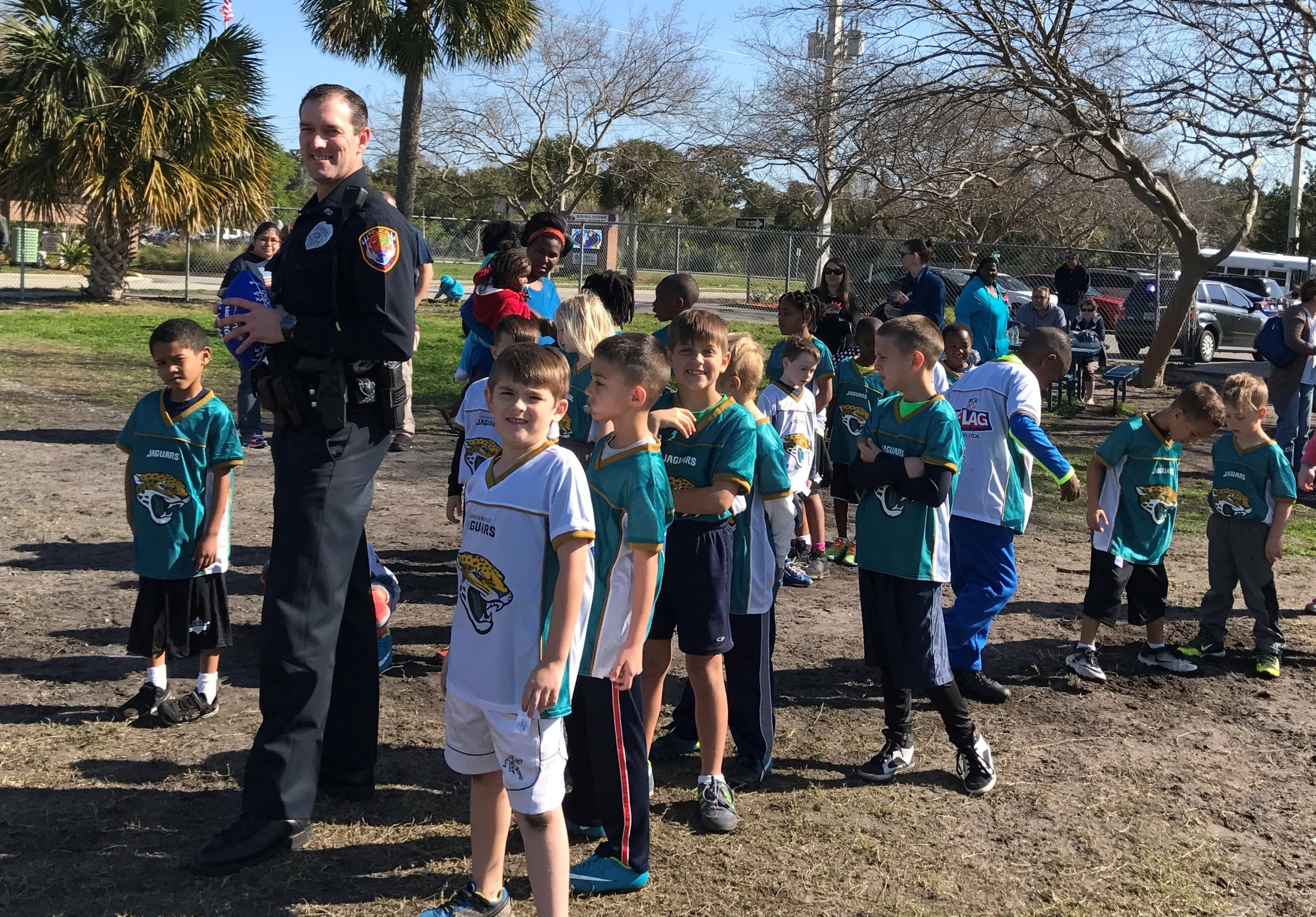2017: Jaguars NFL Flag Football League Opening Day