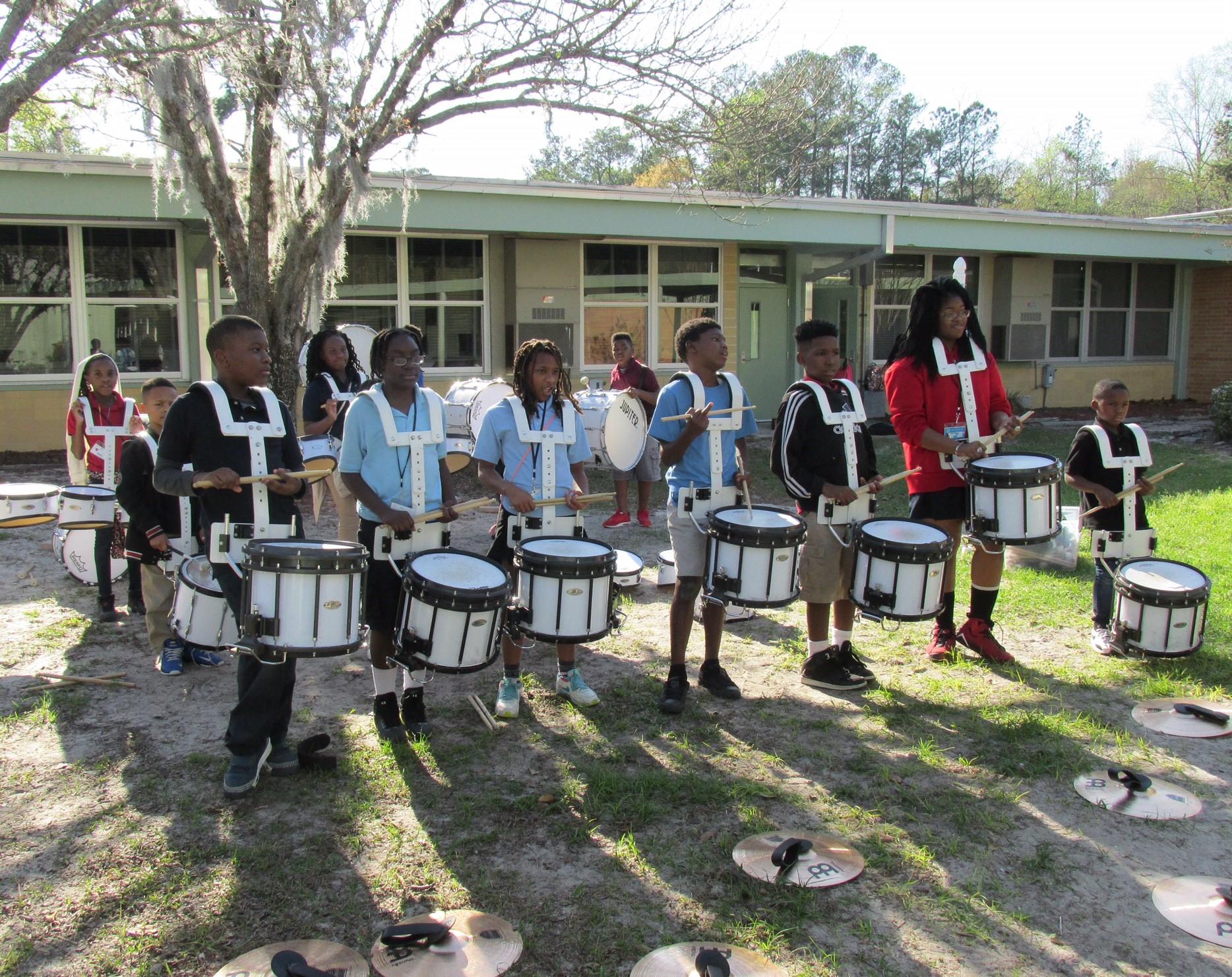 2017: MLK Elementary Boys & Girls Club Drumline