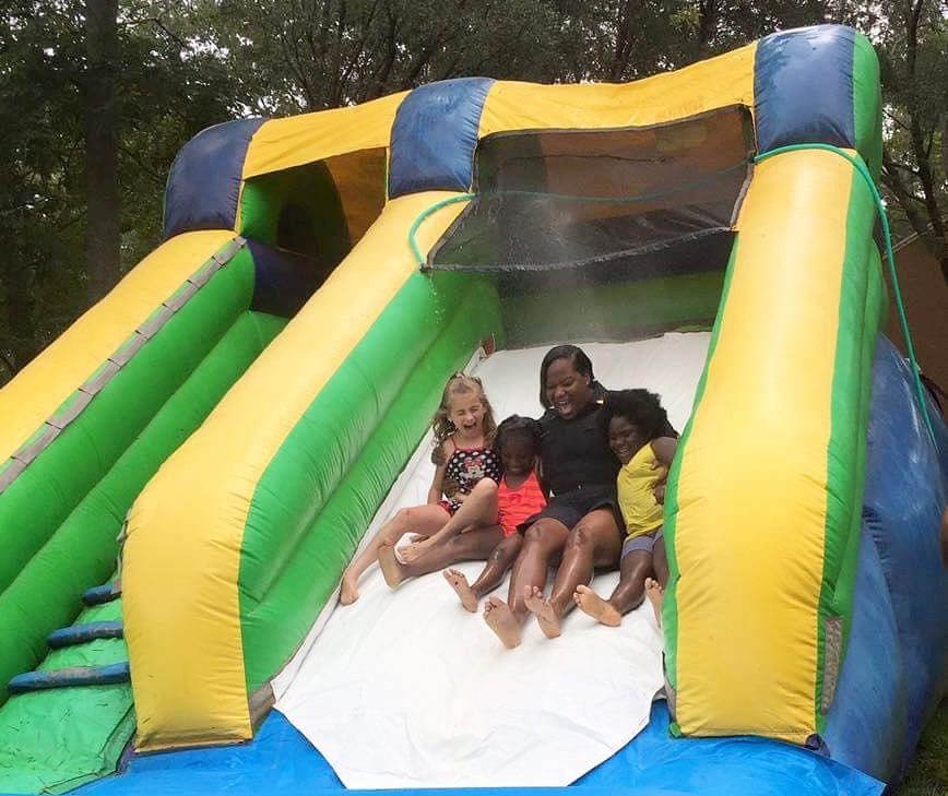 2017 Summer Academy: JAX PAL visits Victory Pointe Boys & Girls Club with inflatable water slides