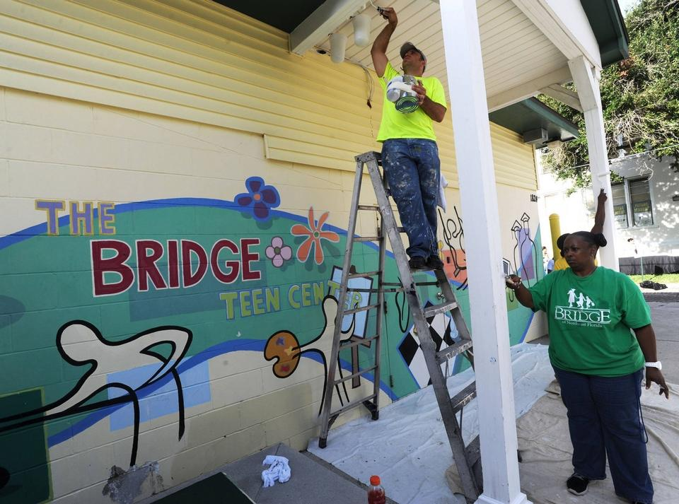 In 2014 The Bridge of Northeast Florida received a facelift at its North Pearl Street facilities.