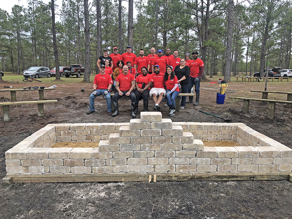 Camp Deep Pond Lowes Work Day Group.jpg