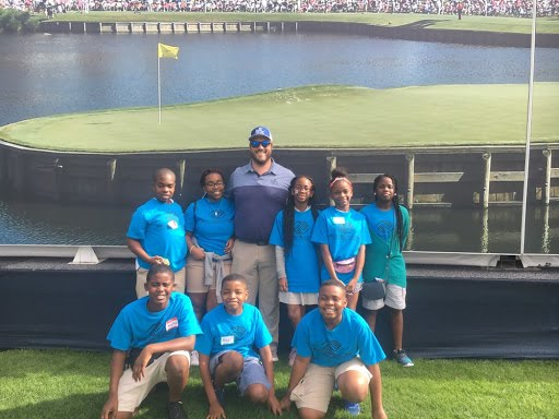 Bridge Connection One Students at TPC Sawgrass.