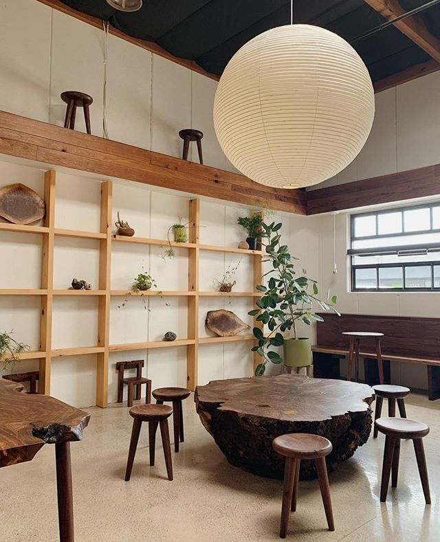CLARO: Recently opened near Friars Road and Morena Blvd, @clarocoffeesd features beautiful wood furnishings and details - courtesy of their neighbor, @madelumber. The space is serene, perfect for getting work done. Try the Chai 👌