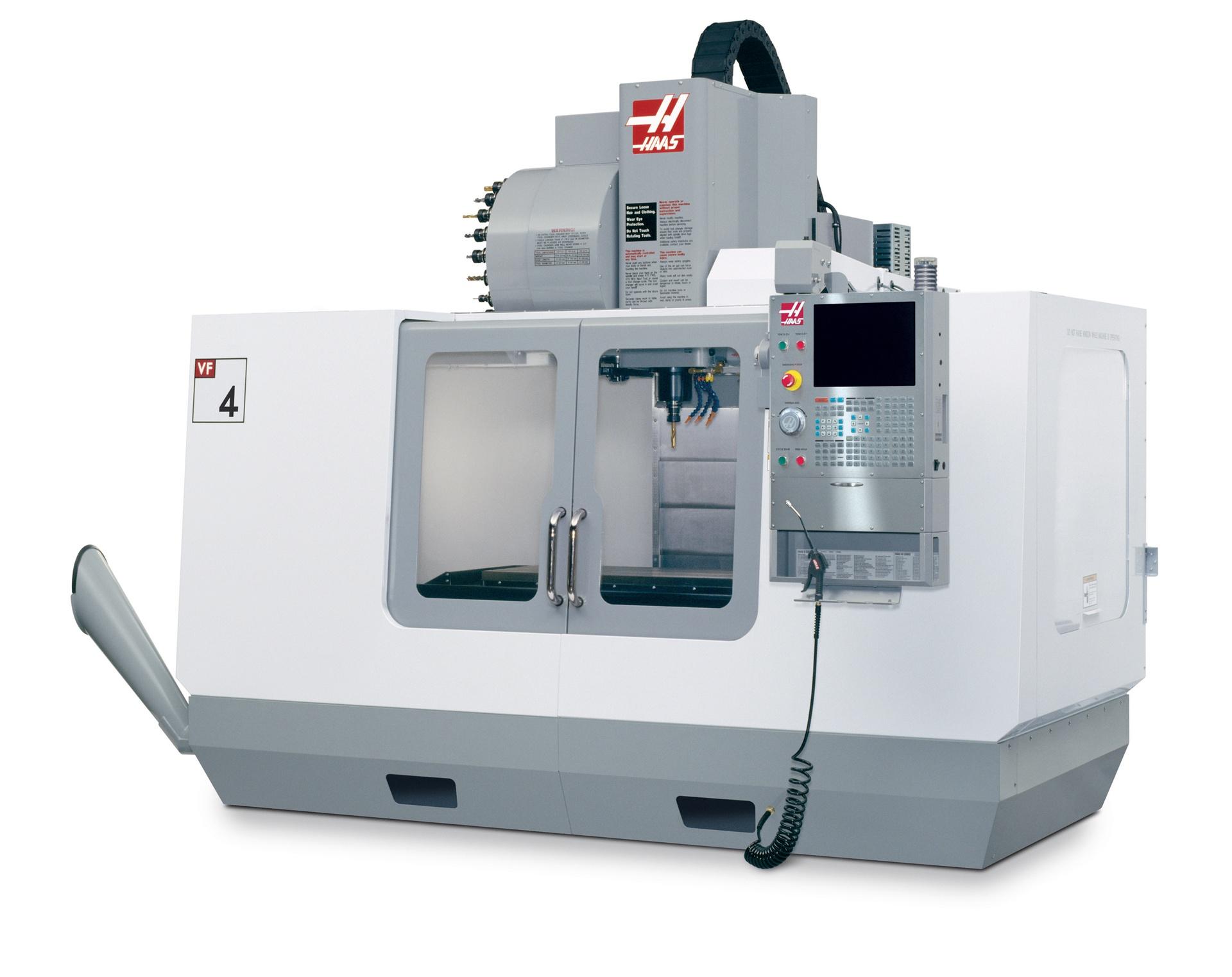 Haas VF4 - Vertical Machining Center