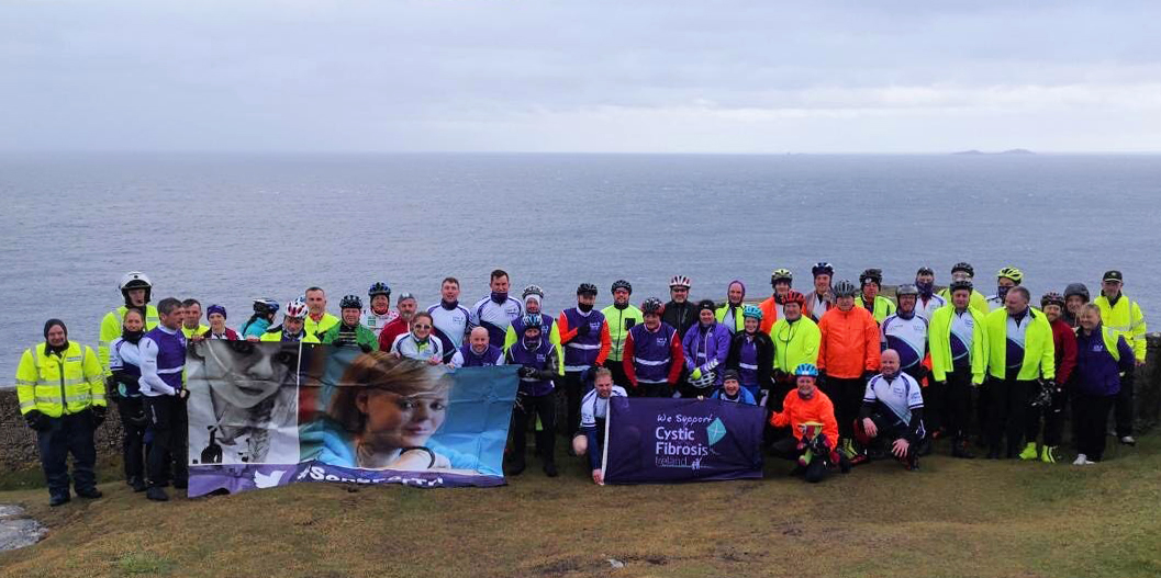 The group before setting out from Malin Head