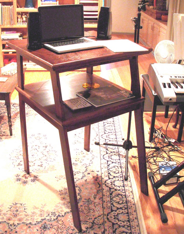 Standing Laptop Desk