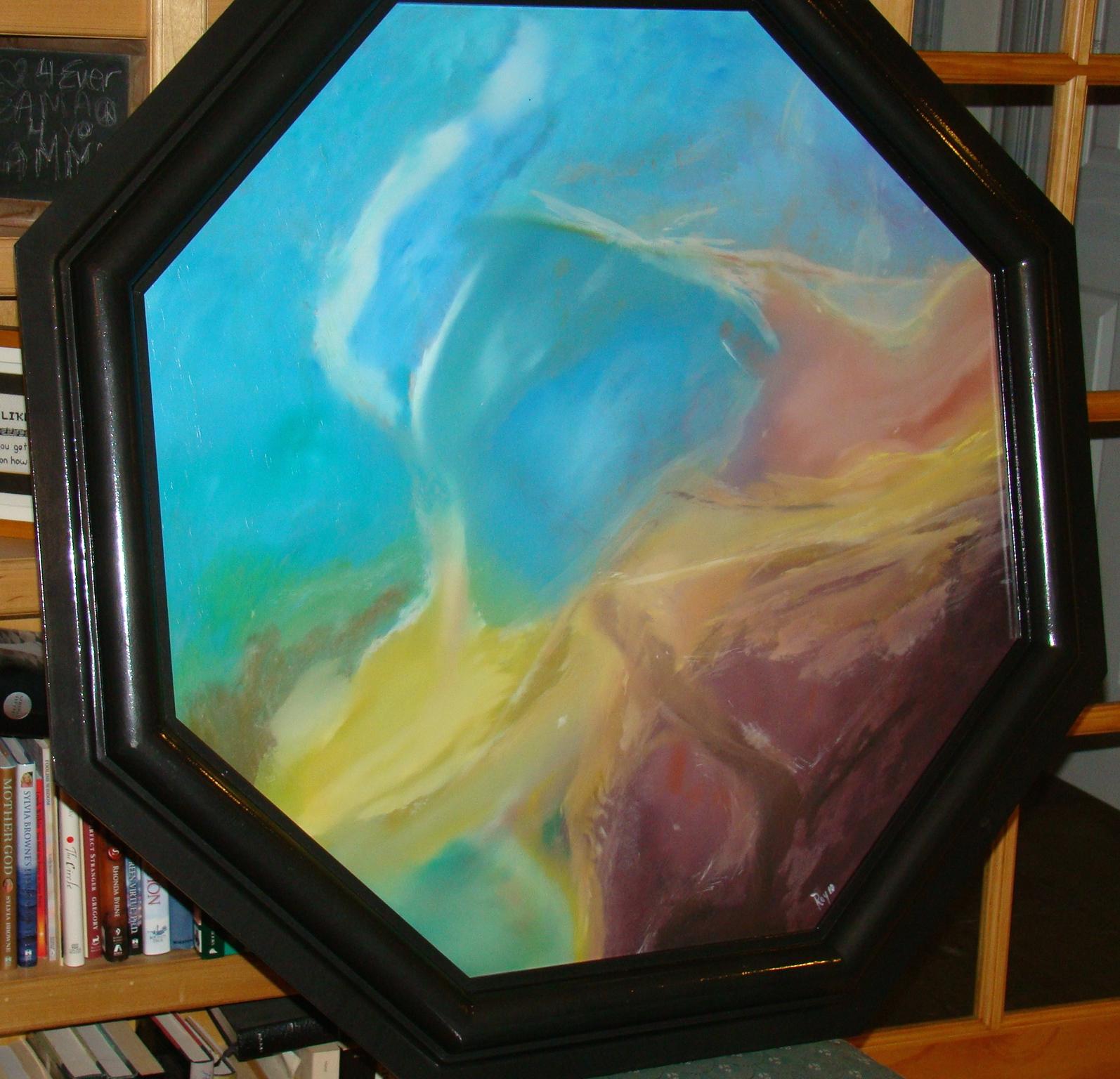 """Paint on Board """"Nebula"""""""