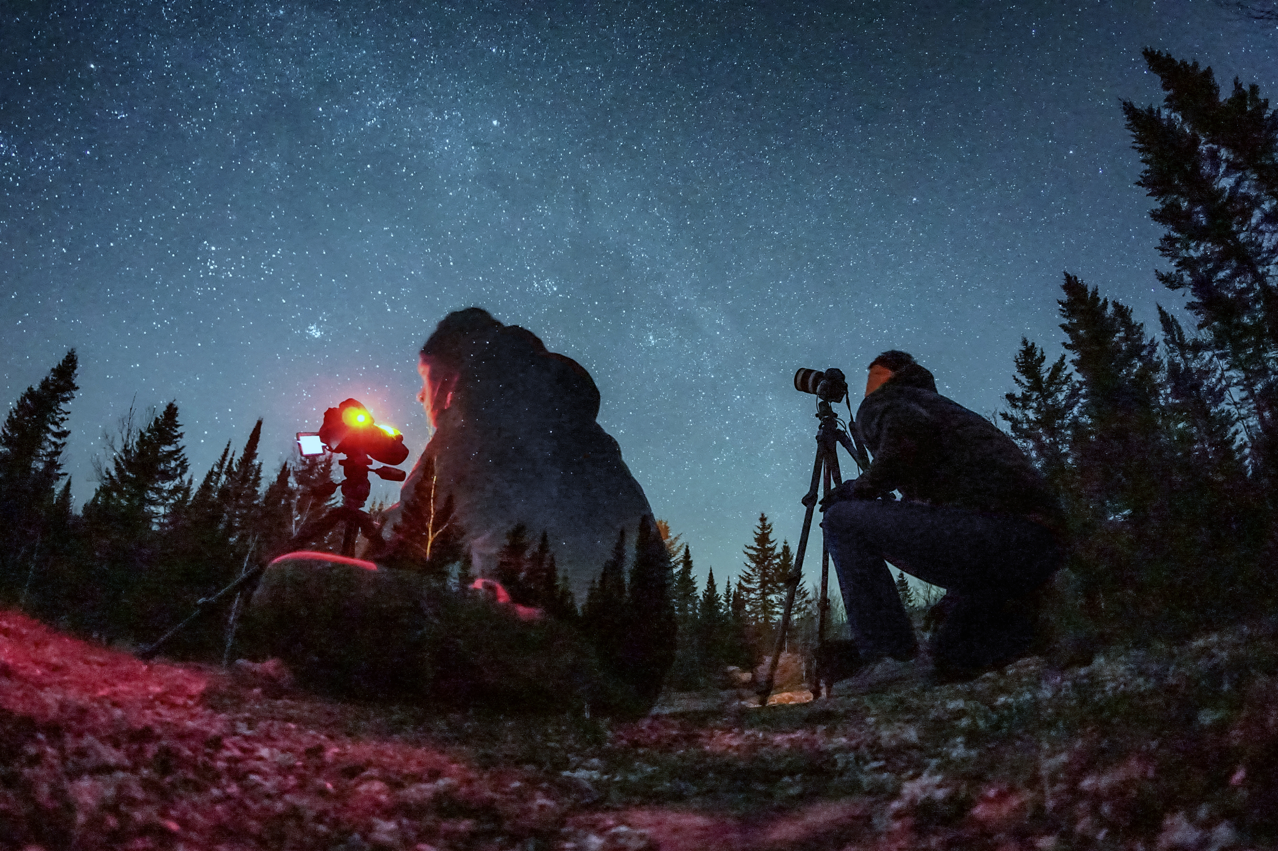 shooting the stars with vlad - fisheye