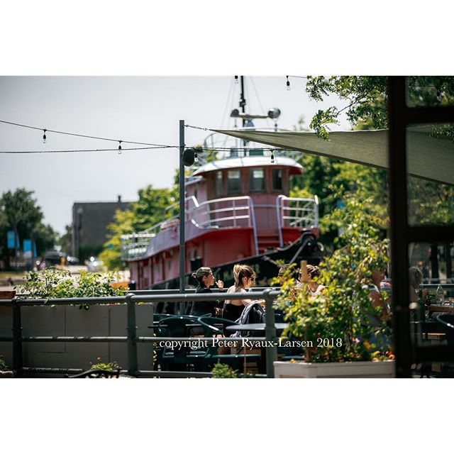 #mtl #montreal #summer #2018 #boats #oldport #nature #restaurant #cuisine #goodlife #tugboat #sailing #terrasse #summerlife #cute #couples #goals #ilovemycity #city #citylife #lunchbreak #canon . . . . Sorry for the watermark but these were mandated photos for a important client.