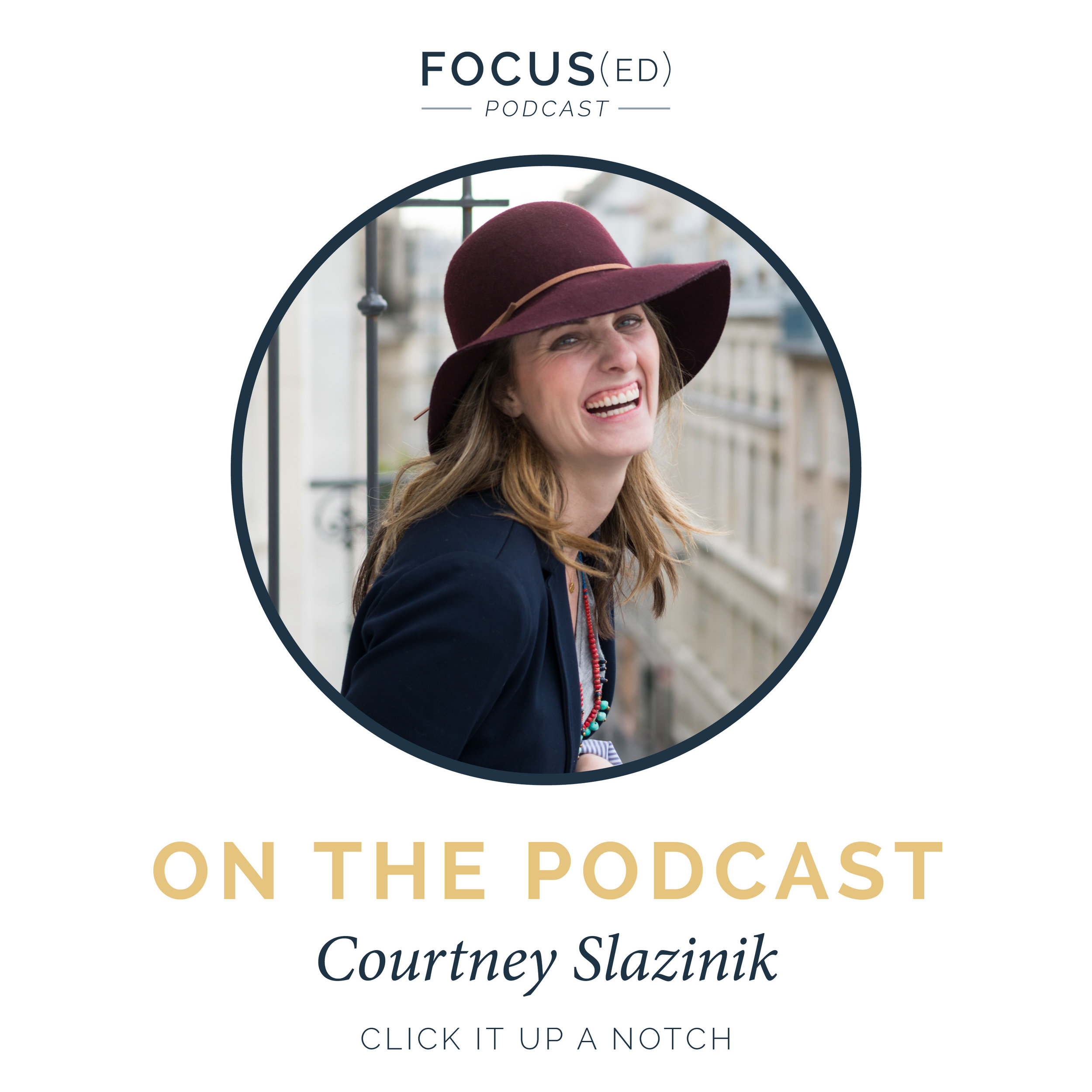 How to make transitions in your business | Courtney Slazinik | Click it up a Notch