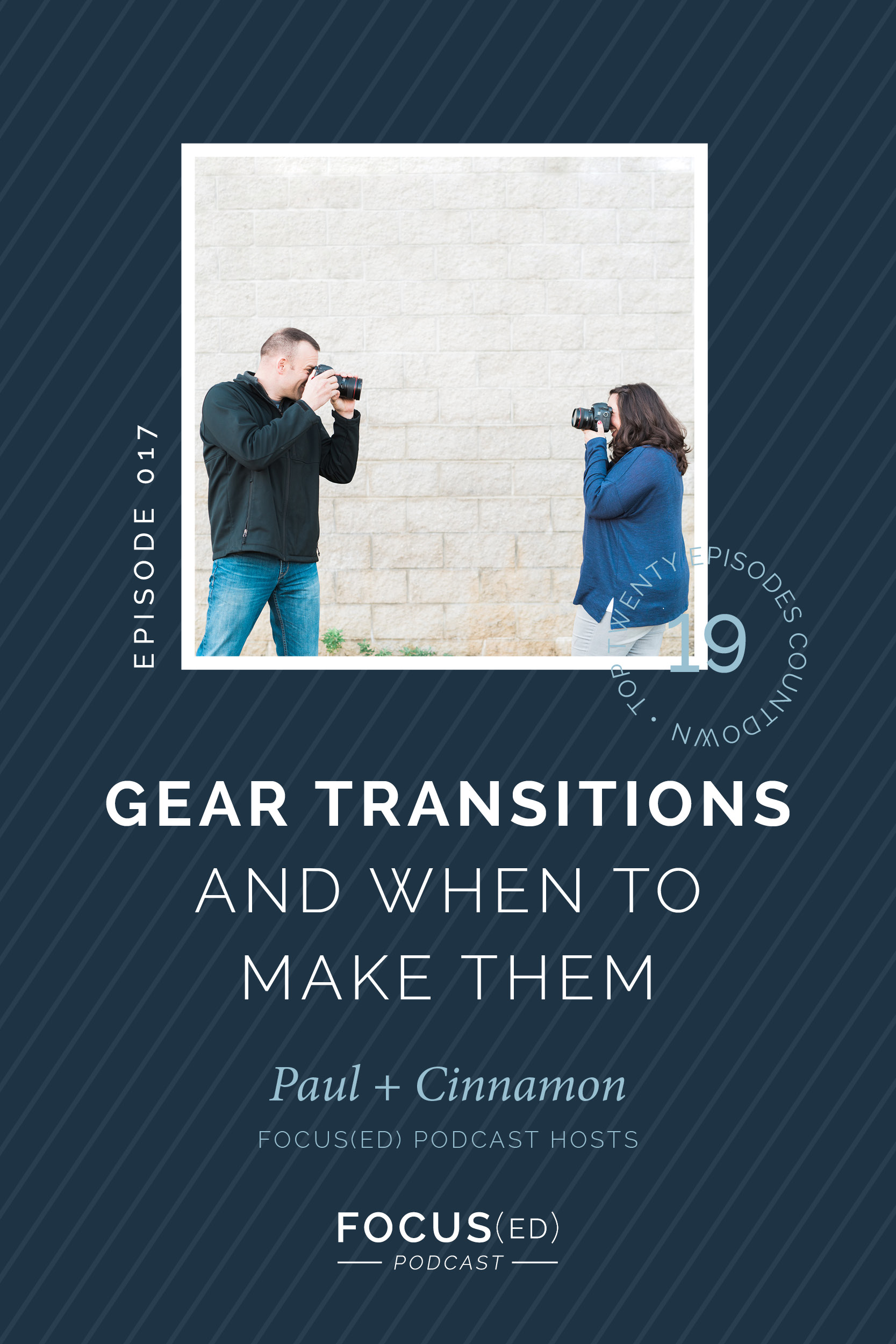 When to make gear transitions in a photography business | What gear do I buy first as a photographer? | Focus(ed) Podcast Top 20