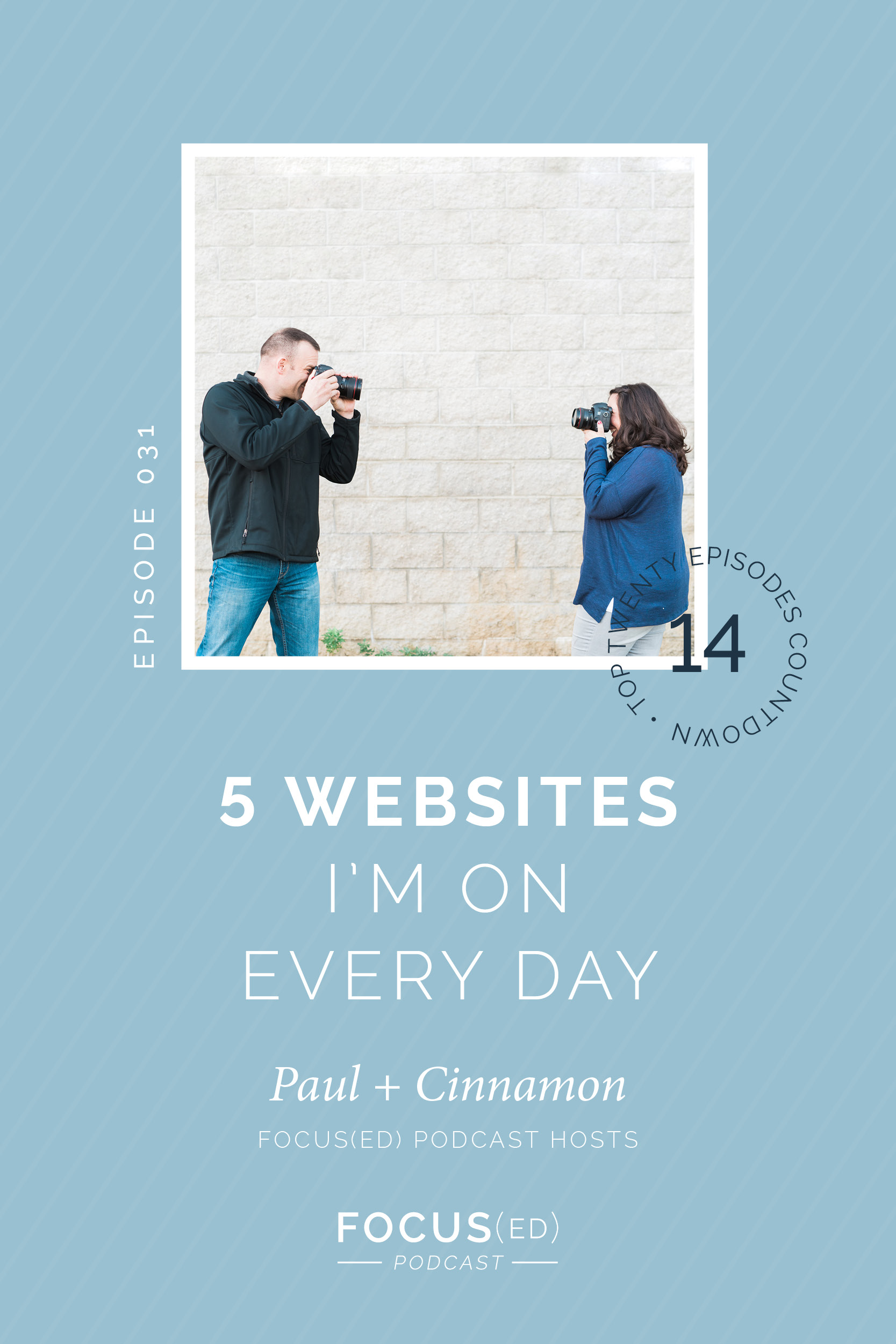 5 websites to utilize every day when running a photography business | Focus(ed) Podcast