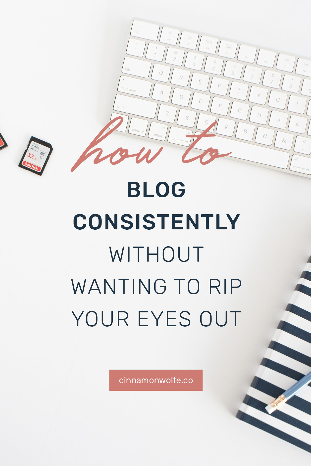 how to blog consistently and grow your audience