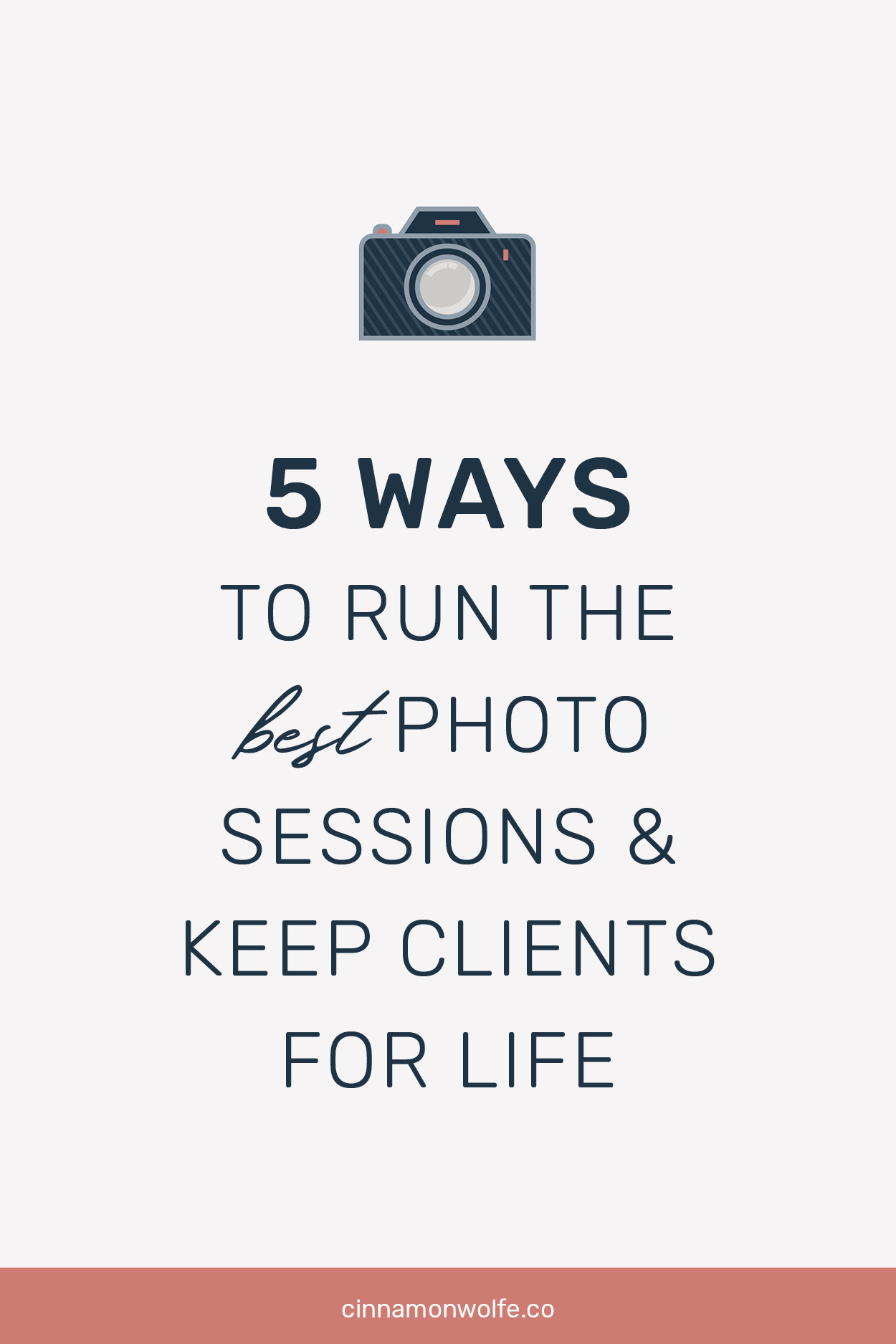 How to run a good family photography session