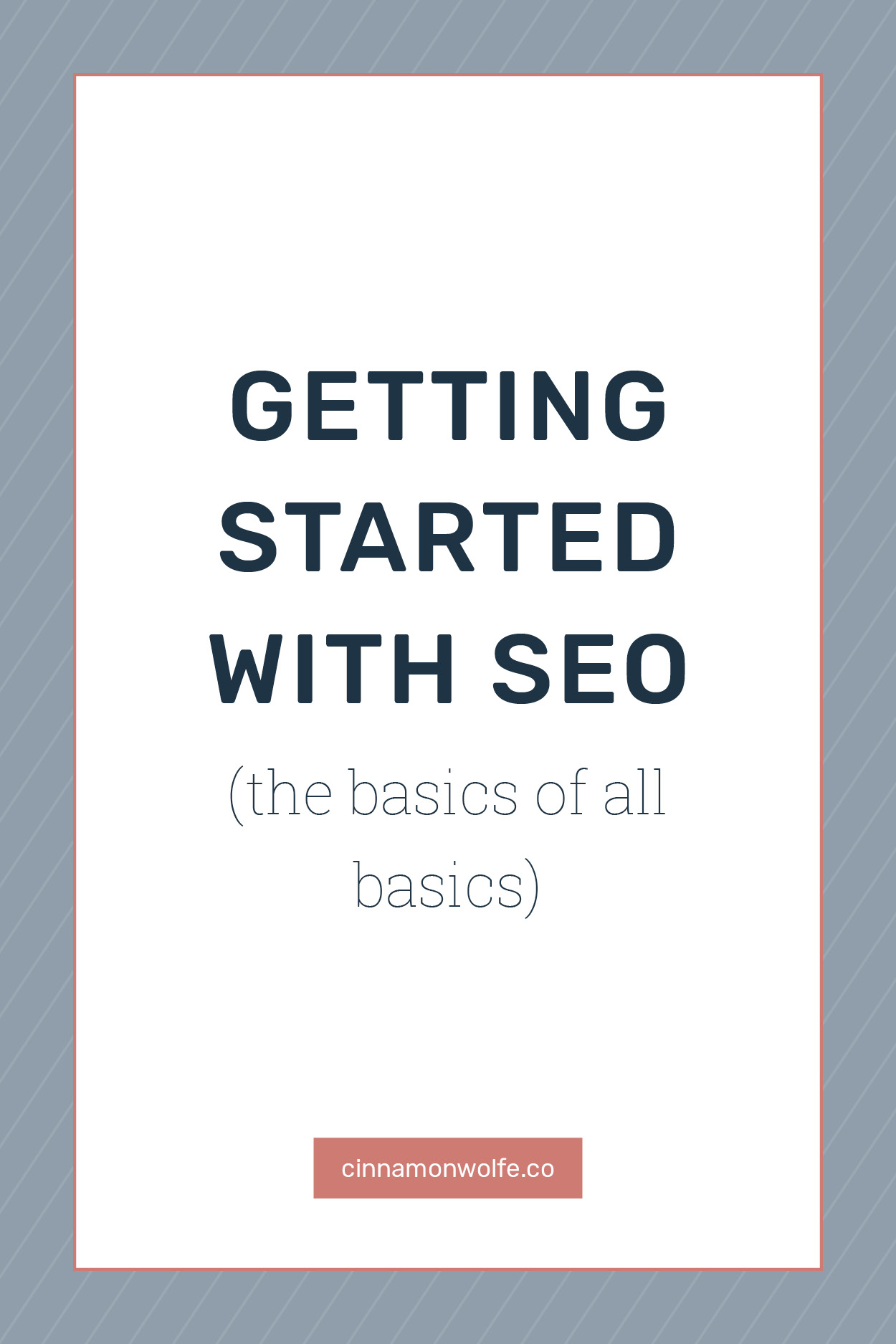 The basics of SEO 2018