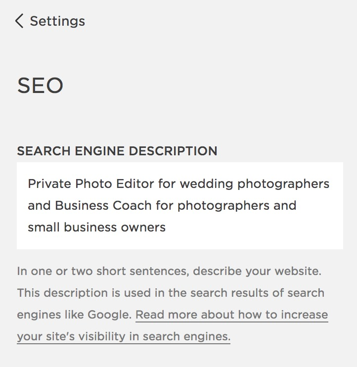 squarespace seo strategies