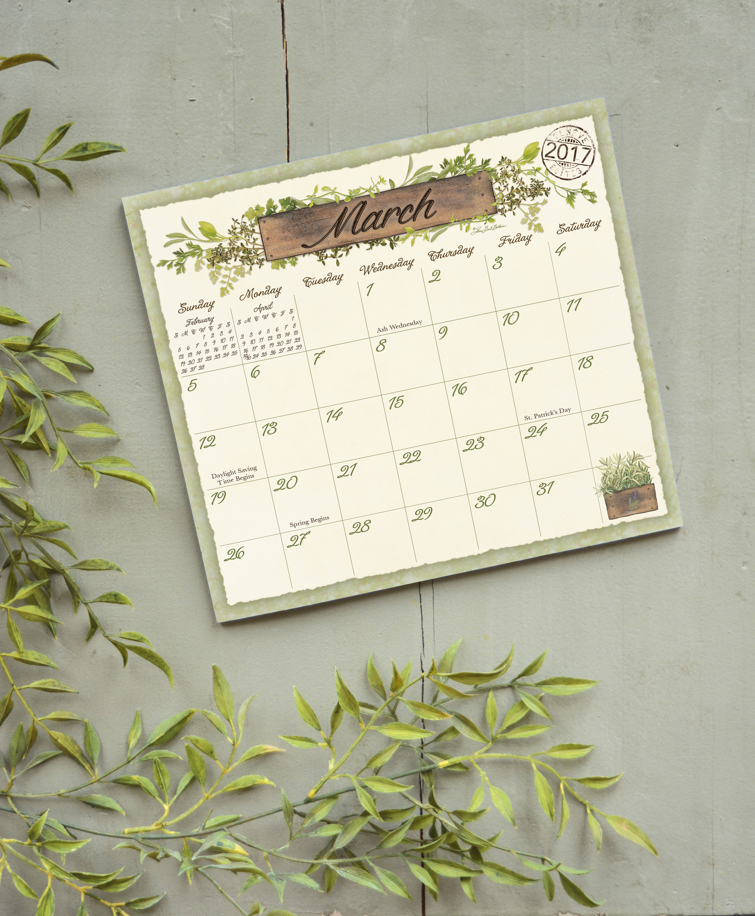 Legacy's Magnetic Calendar Pad