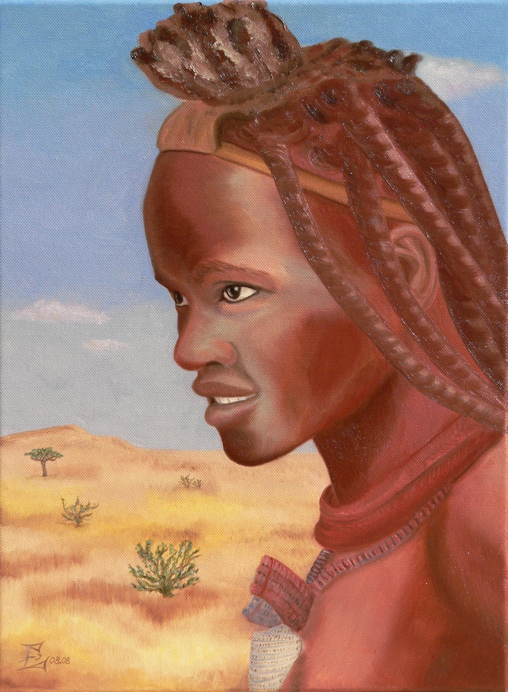 Himba-Frau, 08/2008