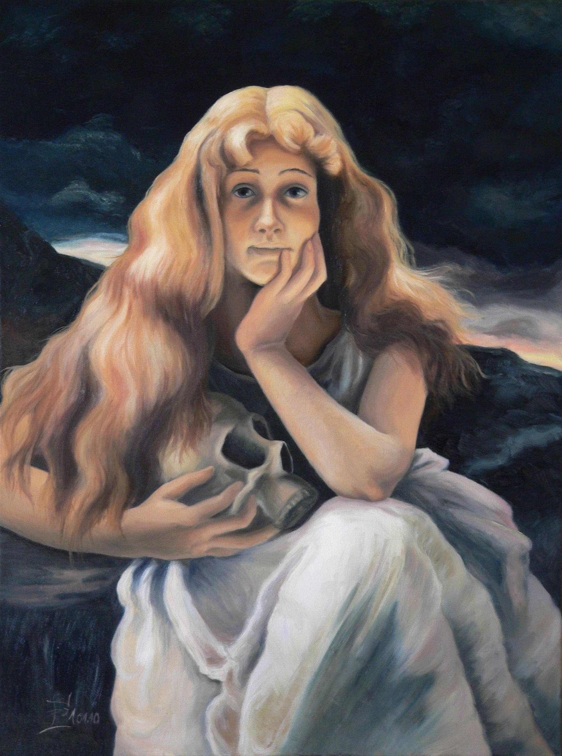 Maria Magdalena - Hommage an Alfred Stevens, 01/2010