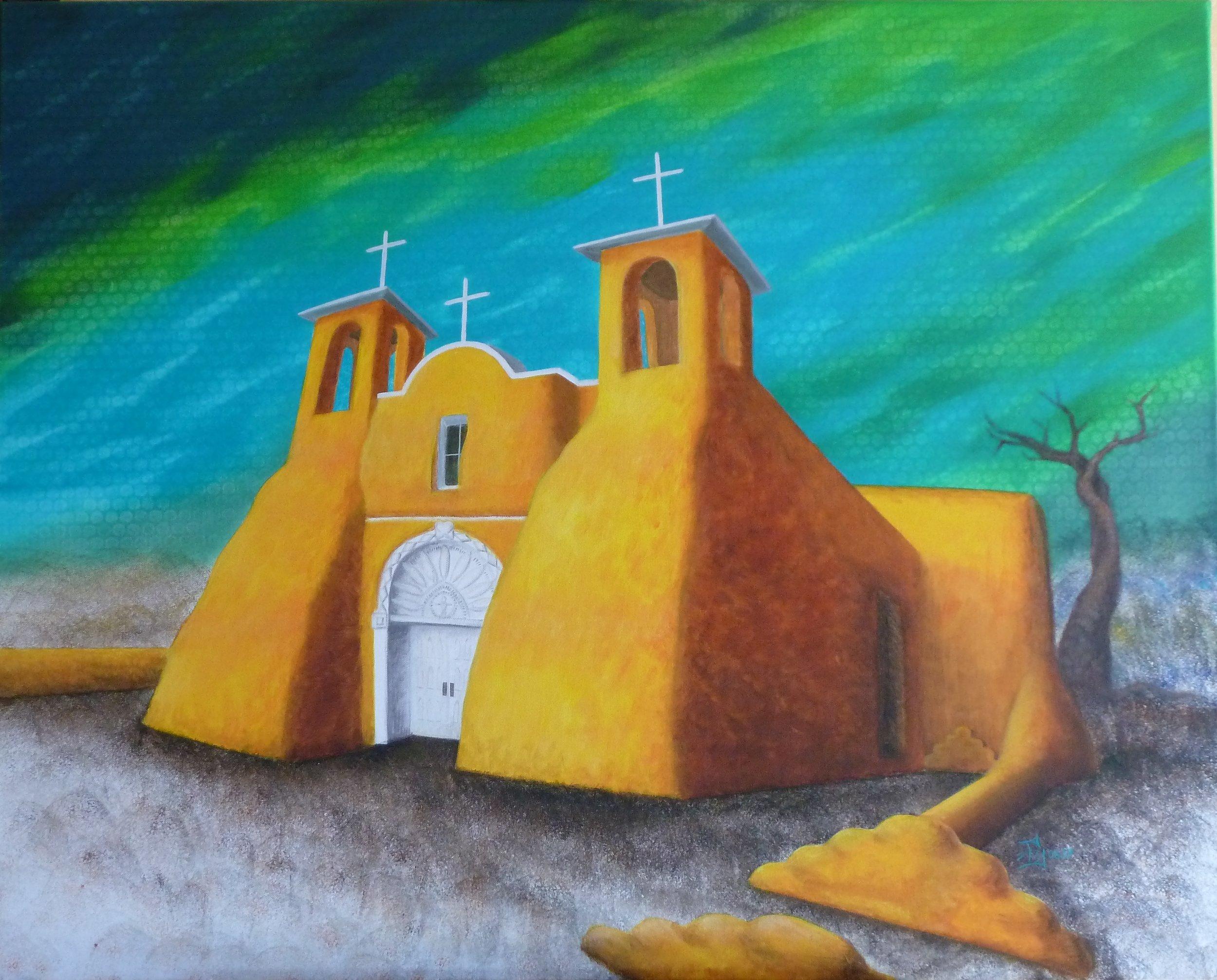 Taos Church, 08/2017