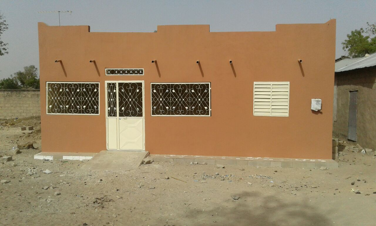 The newly completed Rural Health Post in Sama Toucouleur, Senegal.