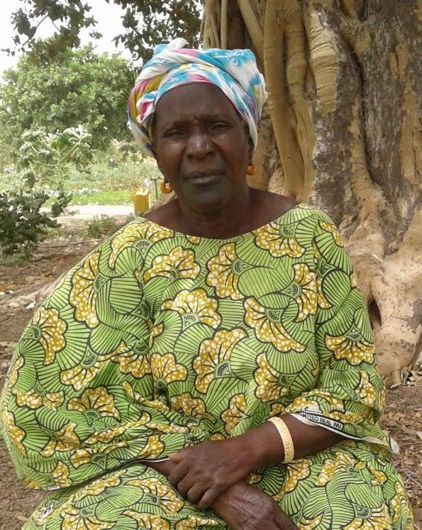 Madame Dieynaba Ba in the Ngor Marone Market Garden