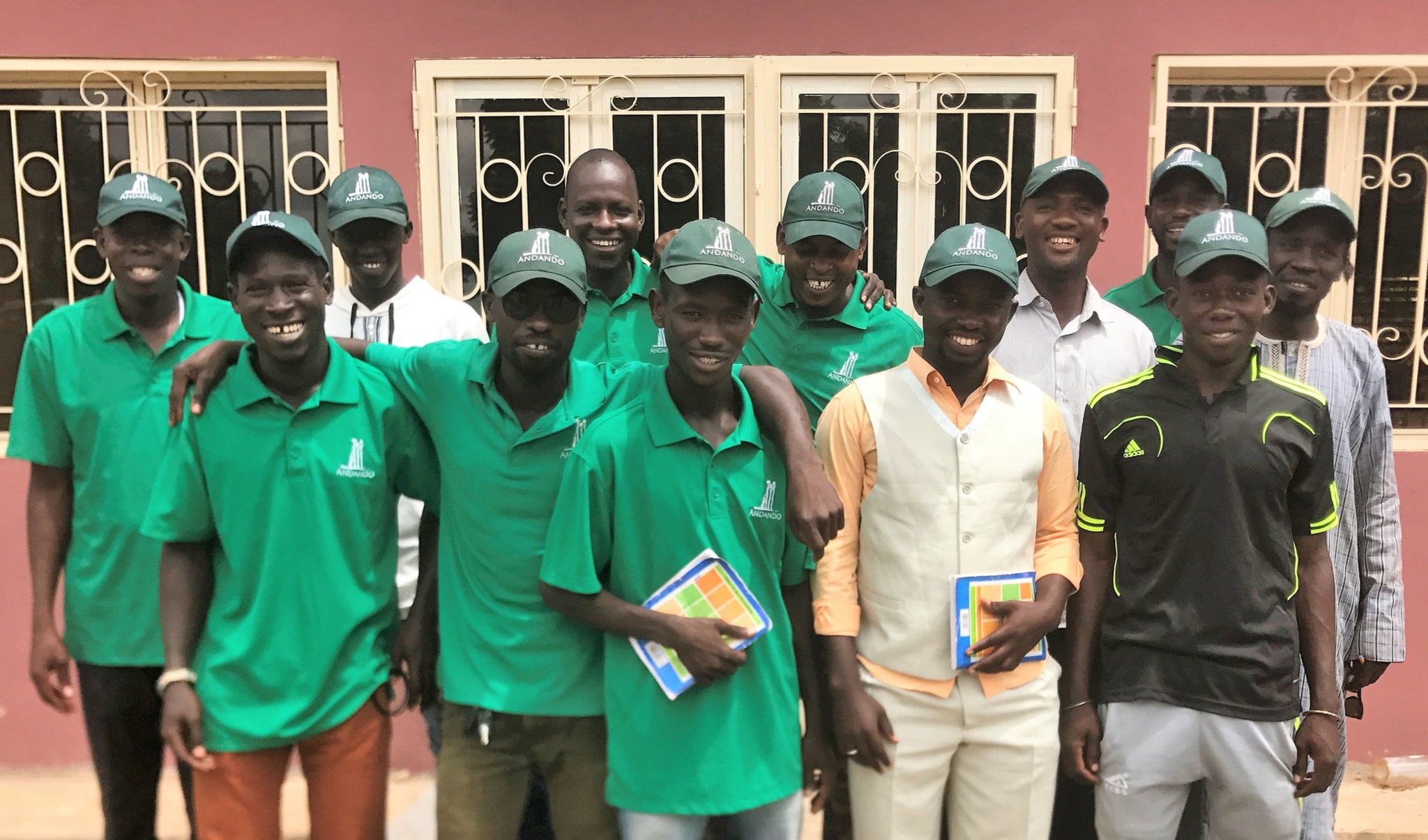 Some of our excellent staff that we have on the ground in Senegal.