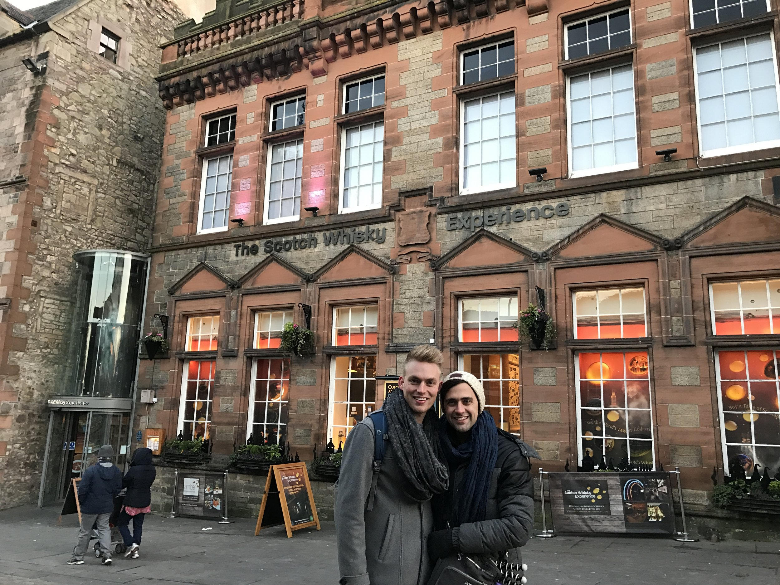 Outside  The Scotch Whisky Experience