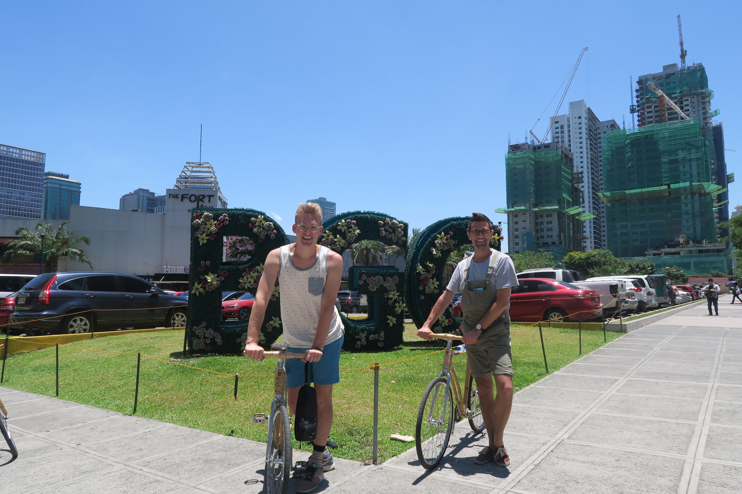 Bike Tour of BGC! Thanks to Shangri La at The Fort in Manila!