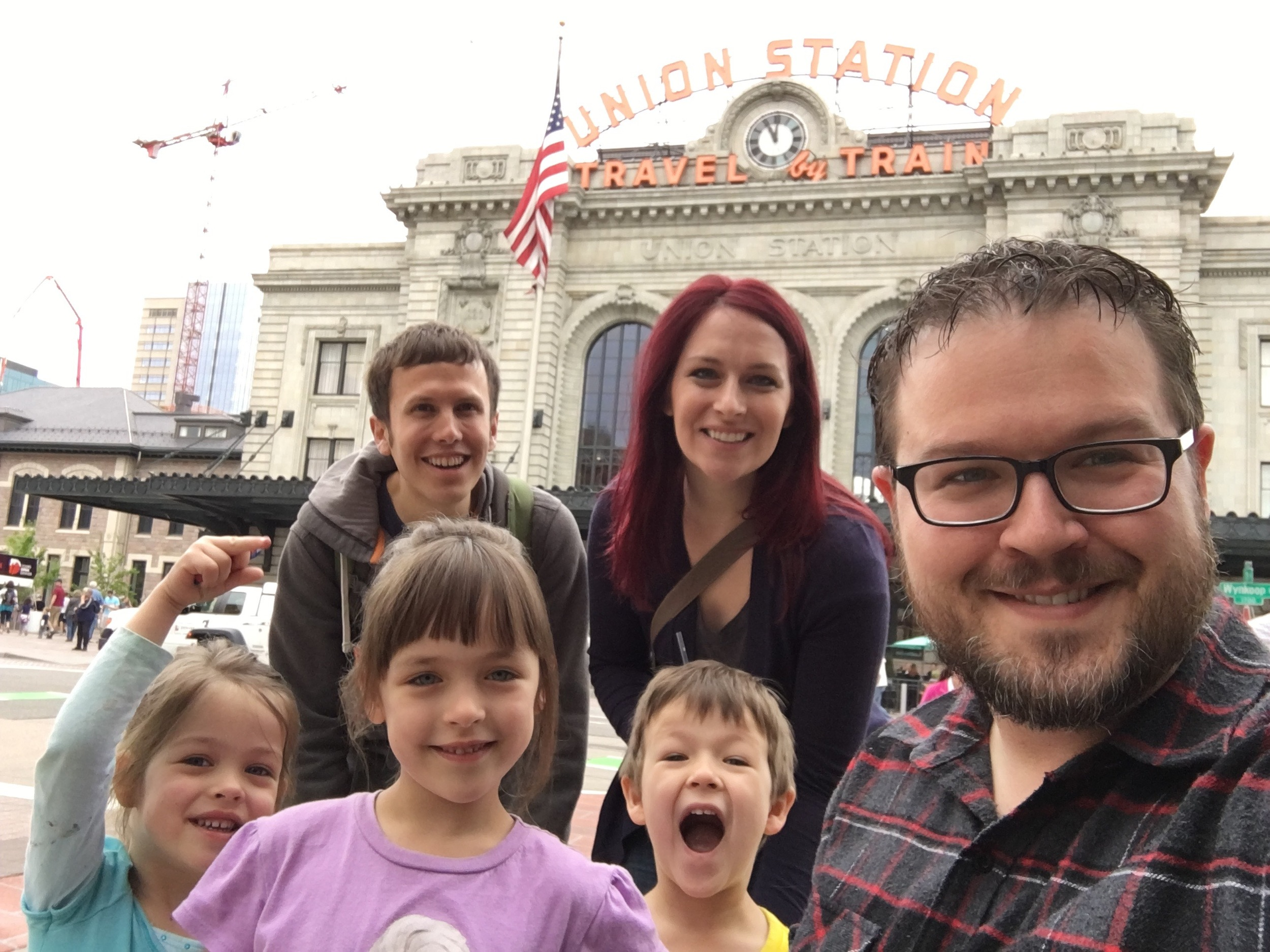 We were able to meet with Mr. Devin outside of the Union Station.