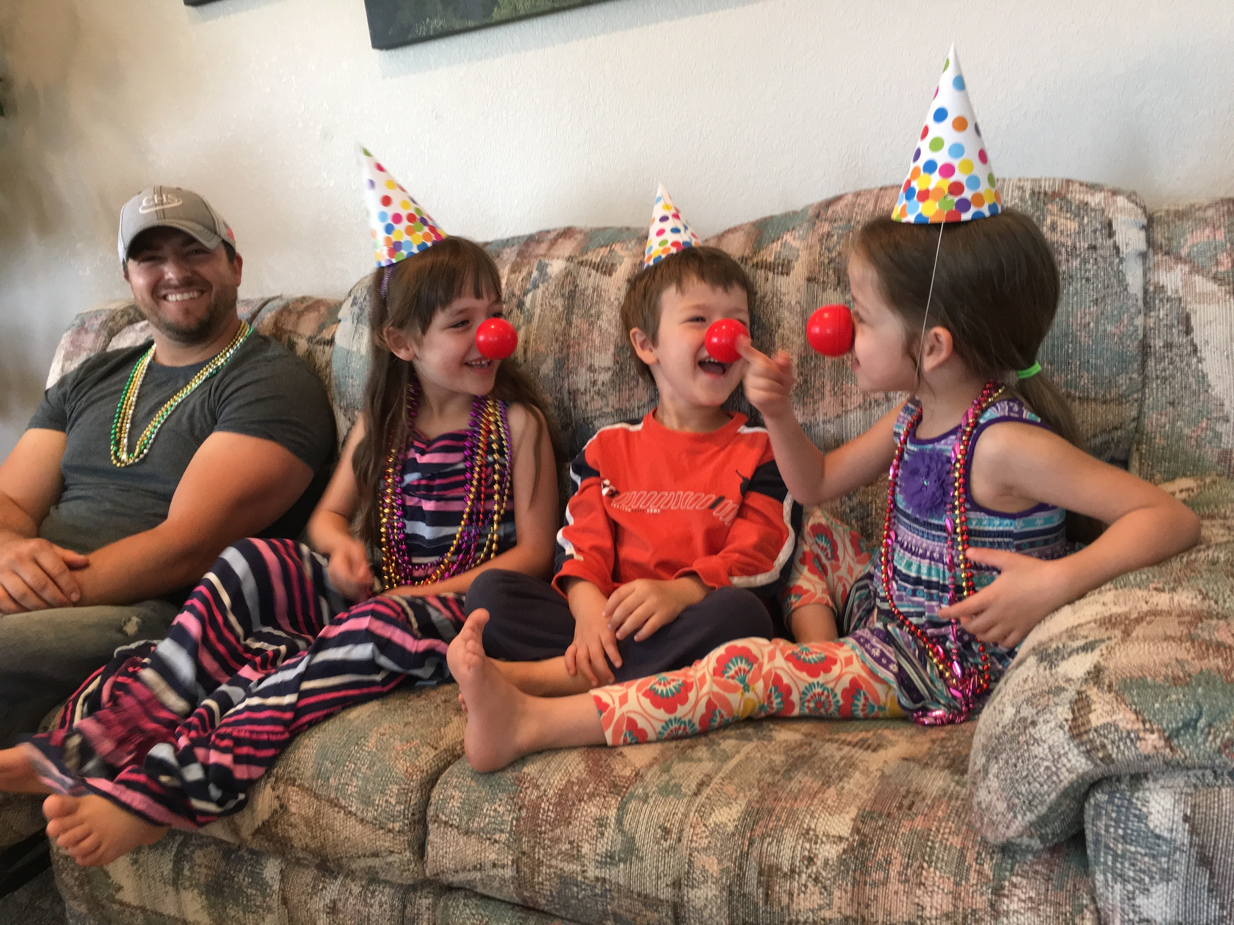 Celebrating Nora's 4th Birthday