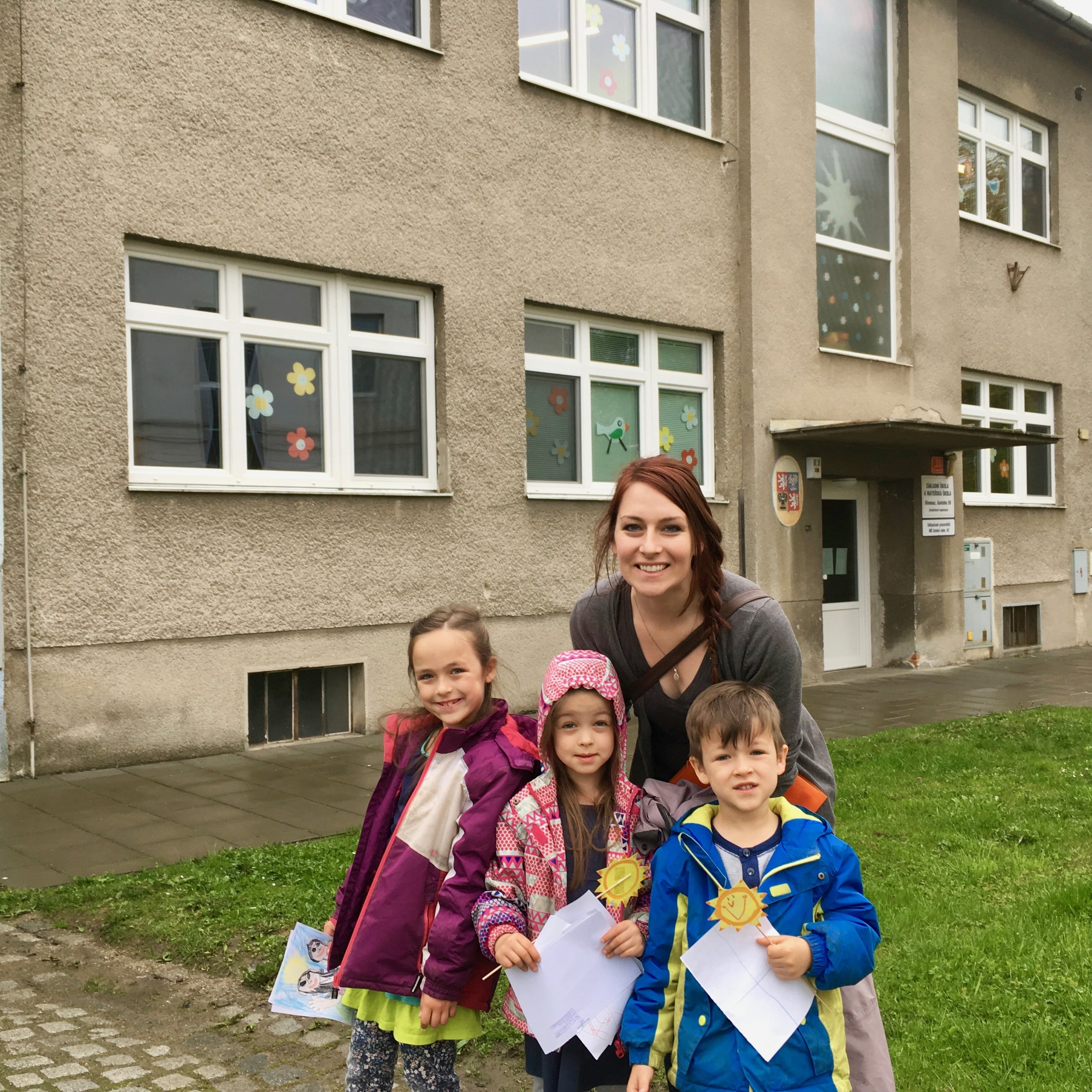 All of the kids have been accepted into their new Czech Schools! We've had dreams of homeschooling them, but those are being put on the back burner for the time being, as we've come to the point where we see the most healthy situation for them being in the public school system, where they will learn the language, culture, and overall find their home here easier than they would everyday in a purely English environment. They will be given a Czech tutor to help them with their language development as well (Praise God!).  One of the things we enjoy about Pioneers is the freedom to be flexible, and we will have opportunities in the future to revise our plans.