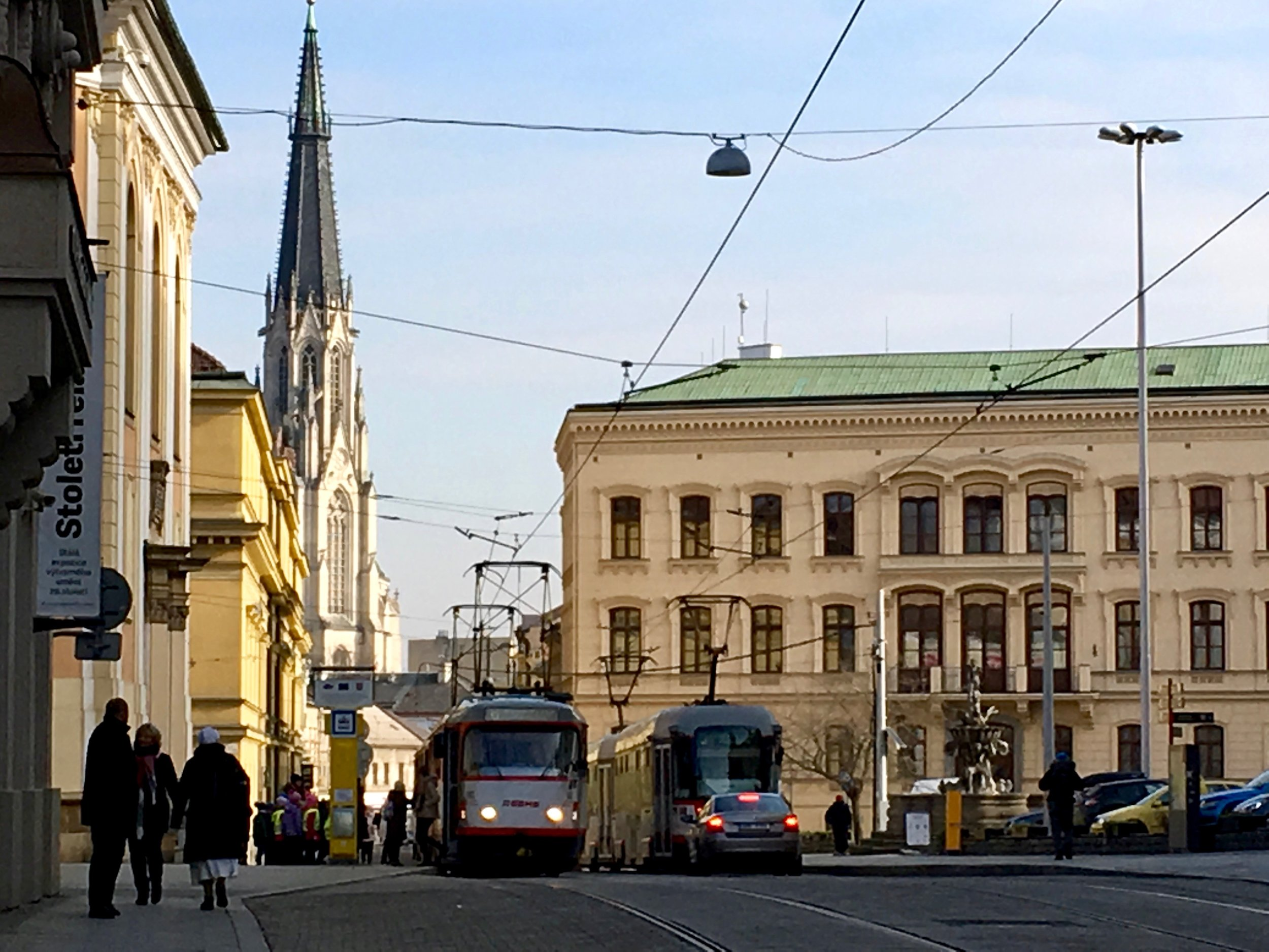 Our city Olomouc is like a living organism. It changes with the seasons and even the demeanor of the people is visibly different based on the time of the year.