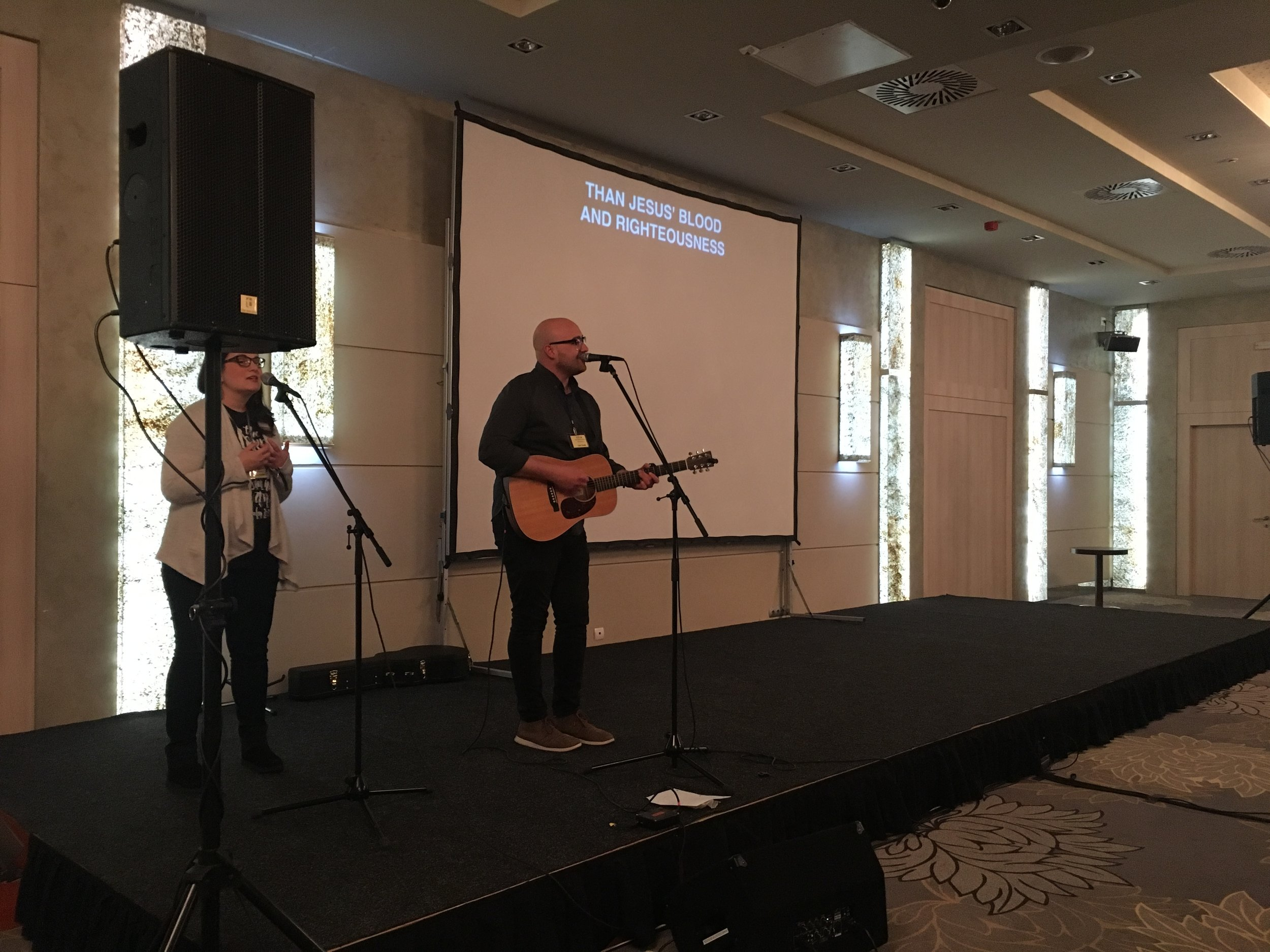 Worship at Share was sweet.