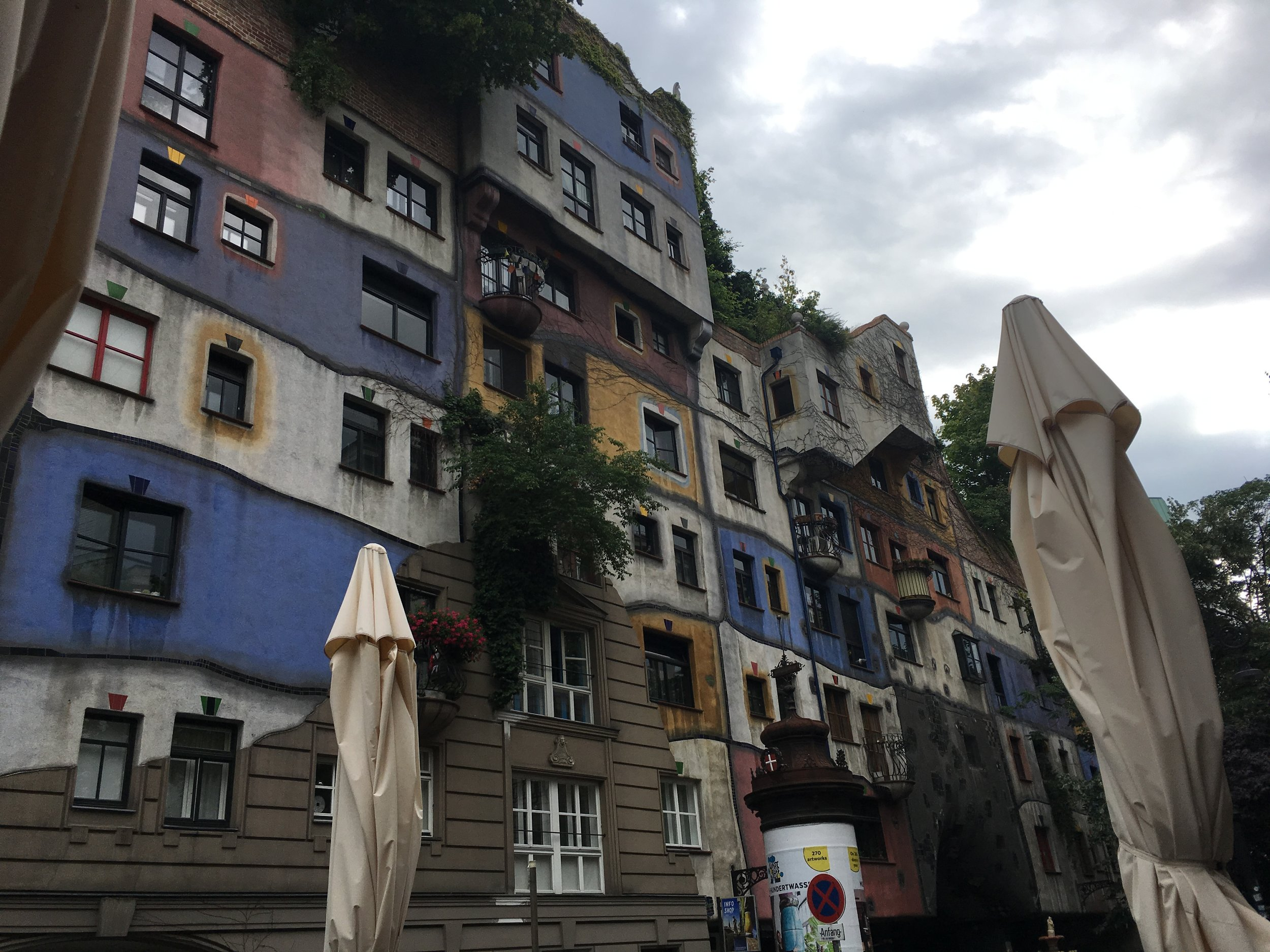 Vienna has some interesting architecture. The whole city is an experience.