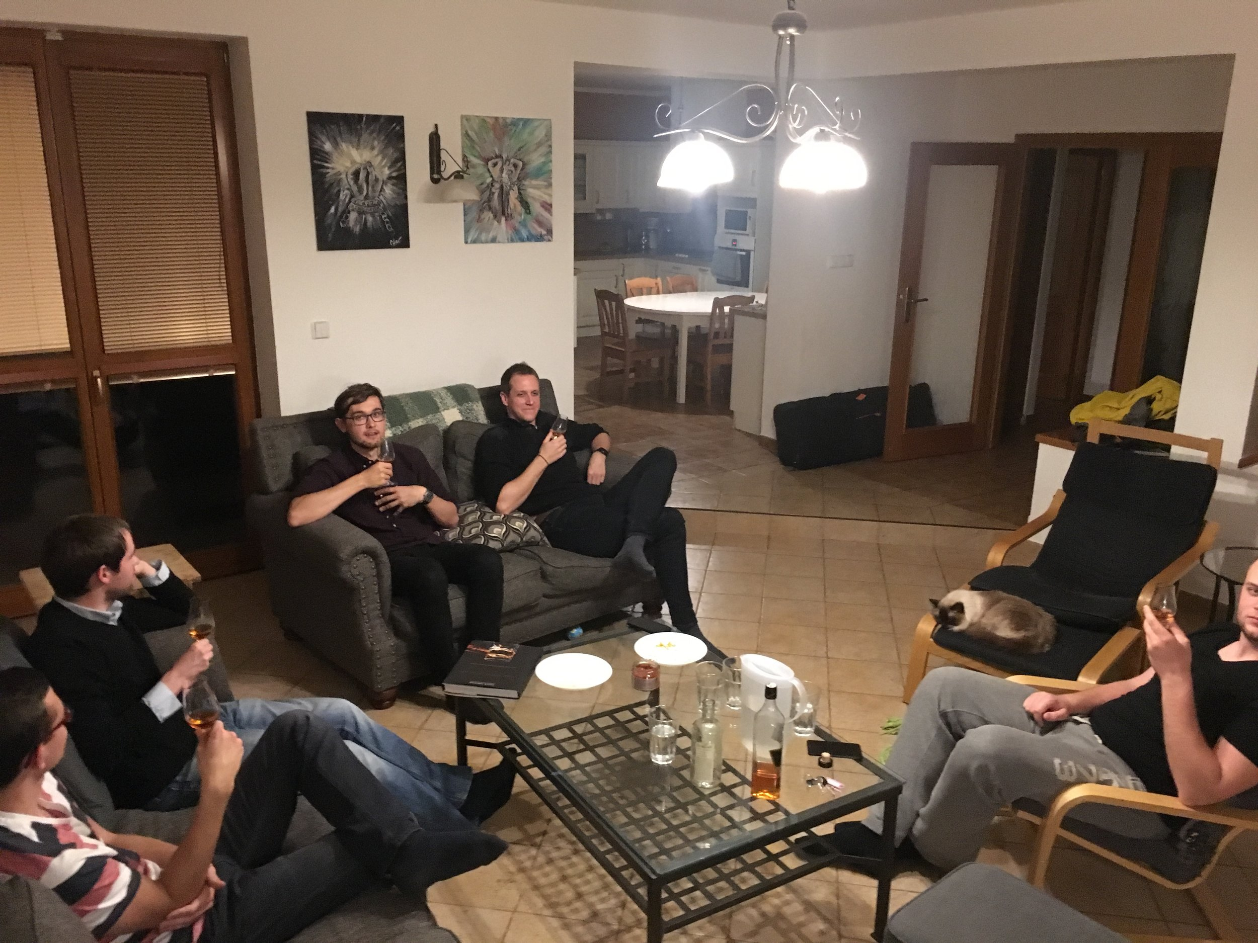 We started a whisky tasting group for men a few months ago. Here we were drinking history (and possibly one of the last bottles) of the 1992 Czechoslovakian Gold Cock.