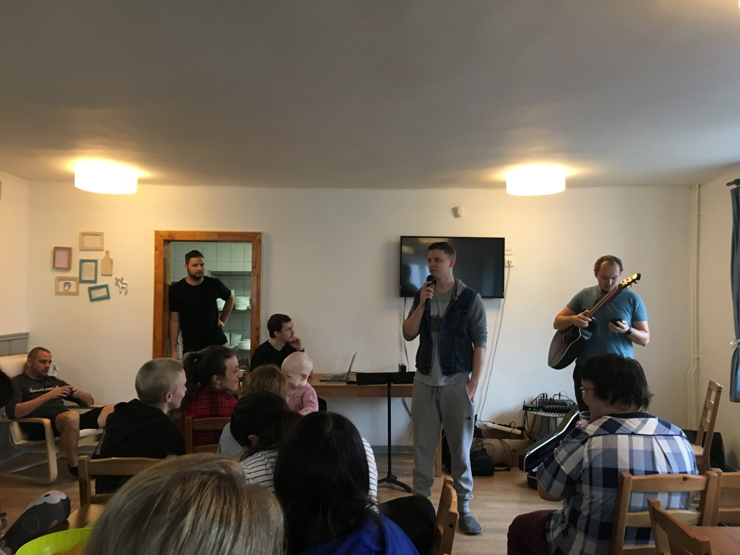 We joined Kostel Jinak for their weekend retreat. It was a great time connecting with them and the American team that came out to talk/pray/dream about the future church plant in Olomouc.